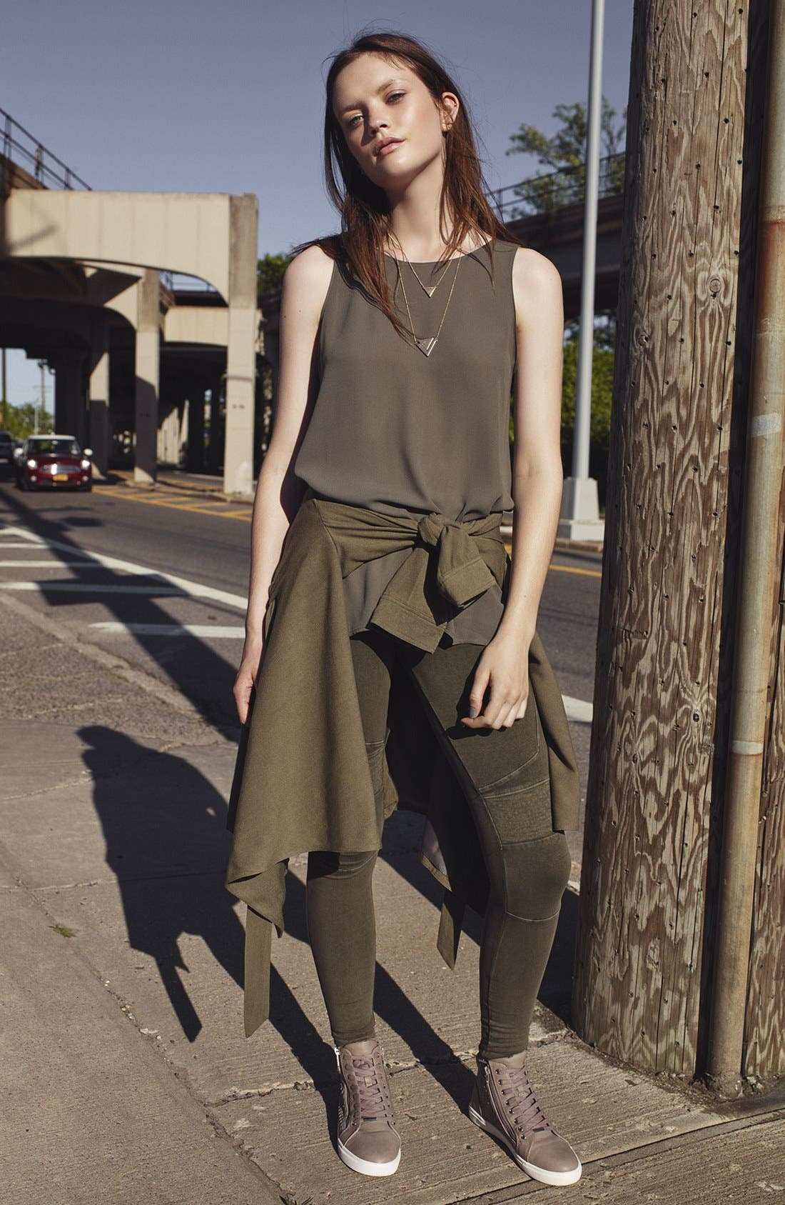 Alternate Image 6  - Lush Side Slit Tank