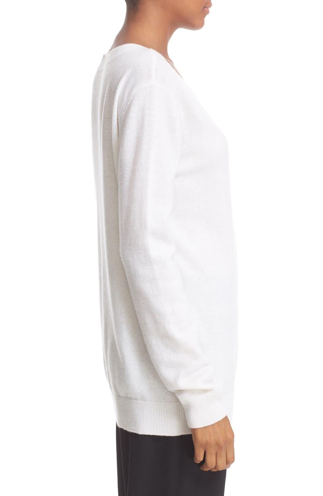Alternate Image 3  - Vince Cashmere V-Neck Sweater