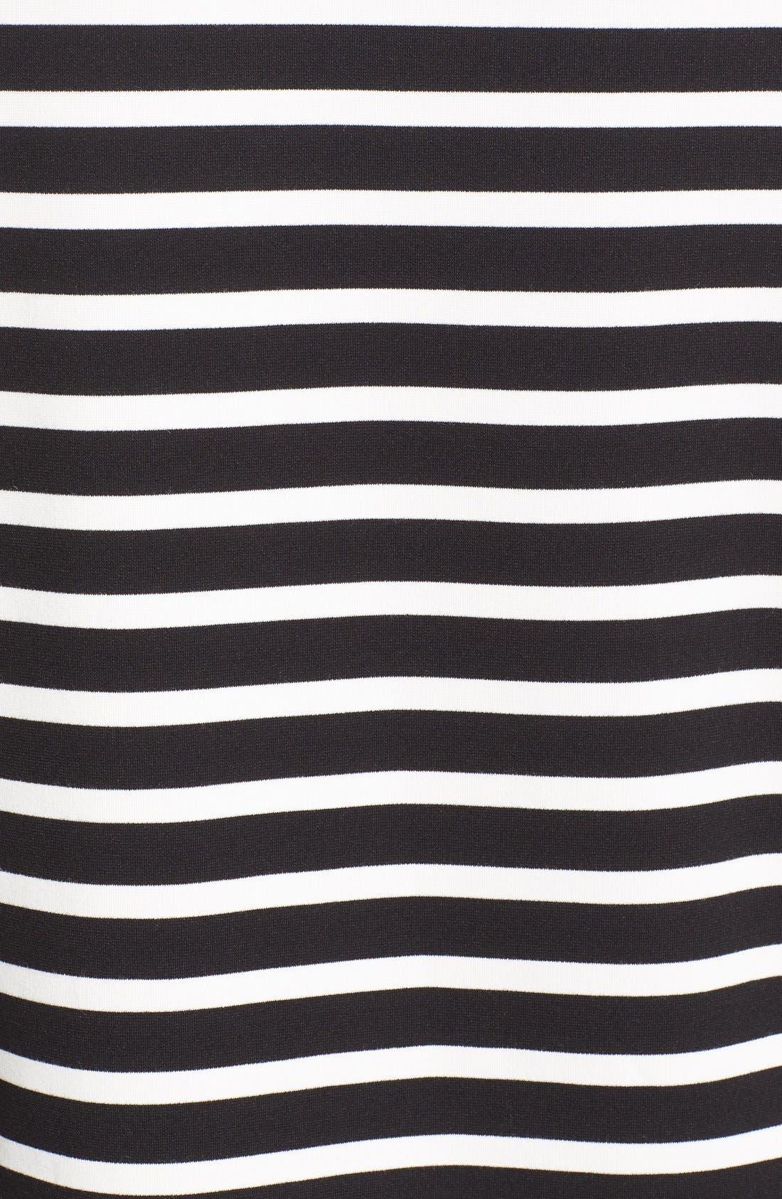 Alternate Image 5  - kate spade new york 'everyday' stripe patch pocket shift dress