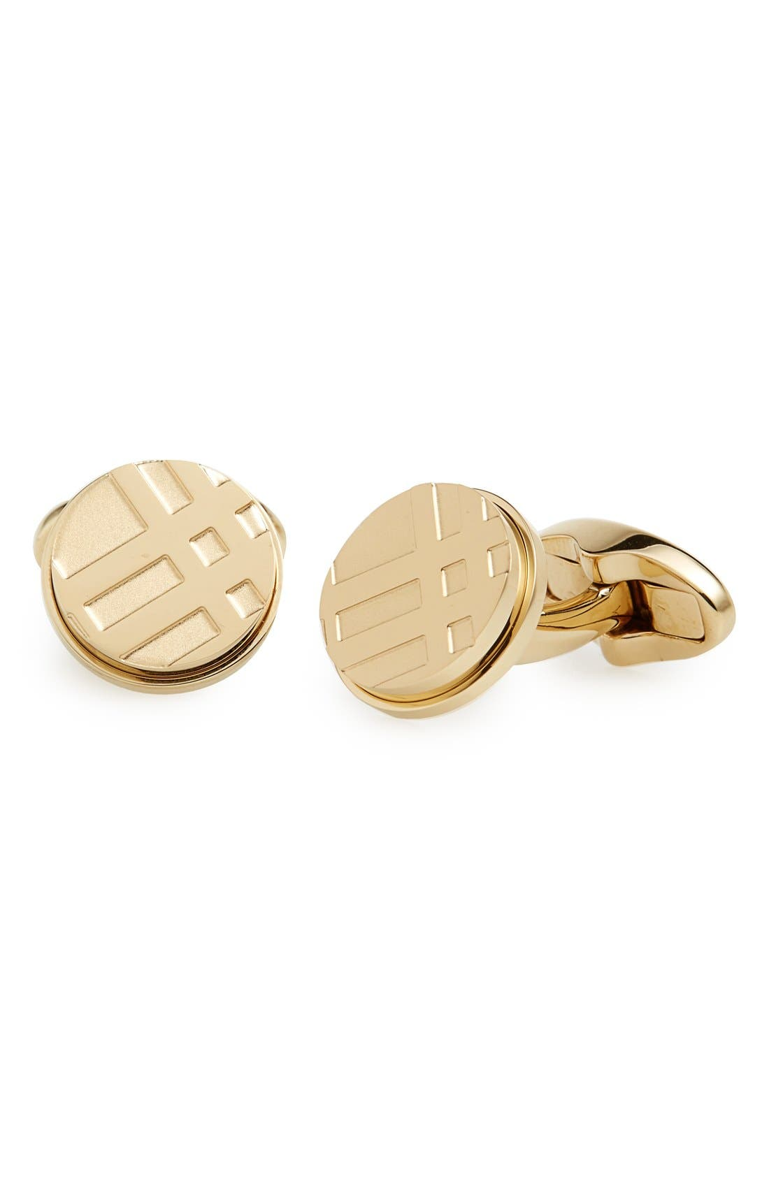 Burberry Round Cuff Links