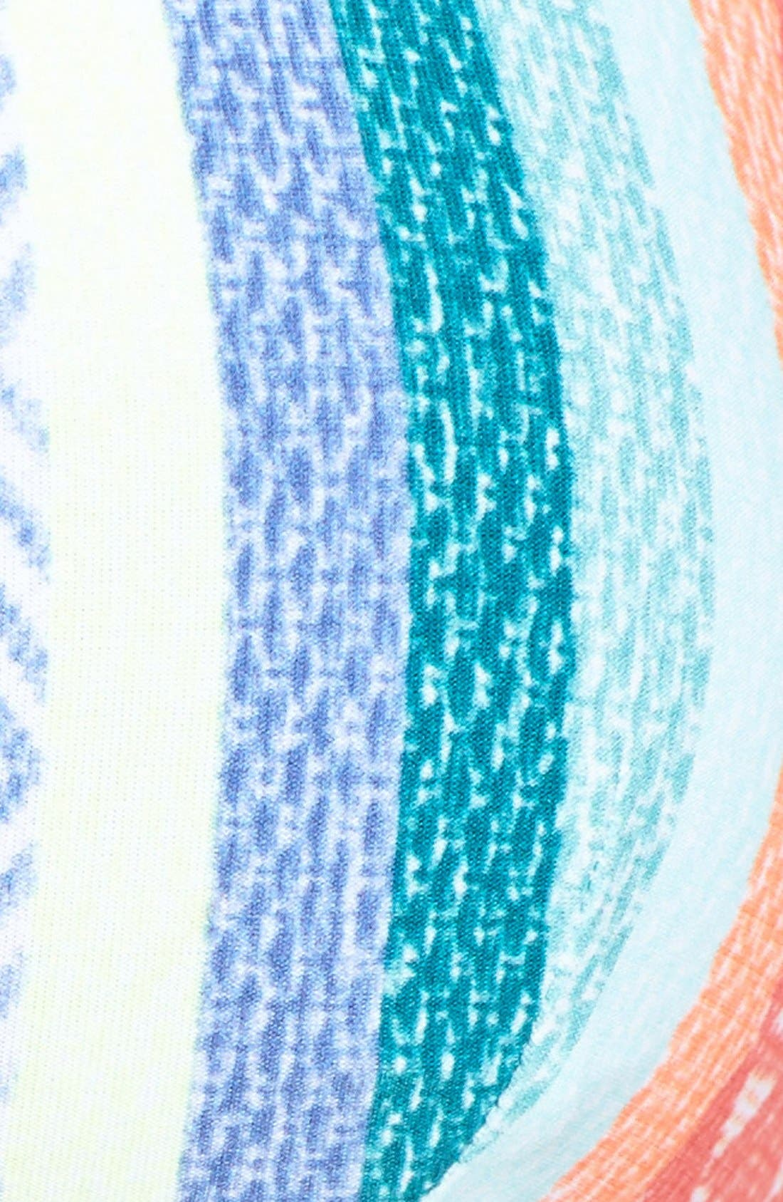 Alternate Image 6  - Rip Curl Sun Stripe Triangle Bikini Top