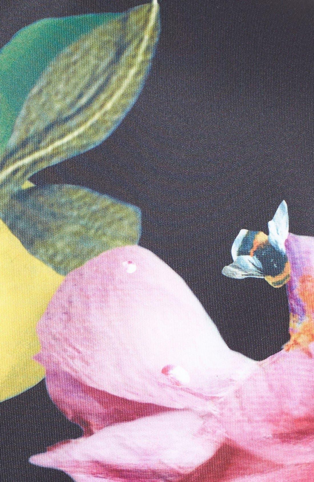 Alternate Image 5  - Ted Baker London 'Allisia' Print Skater Dress