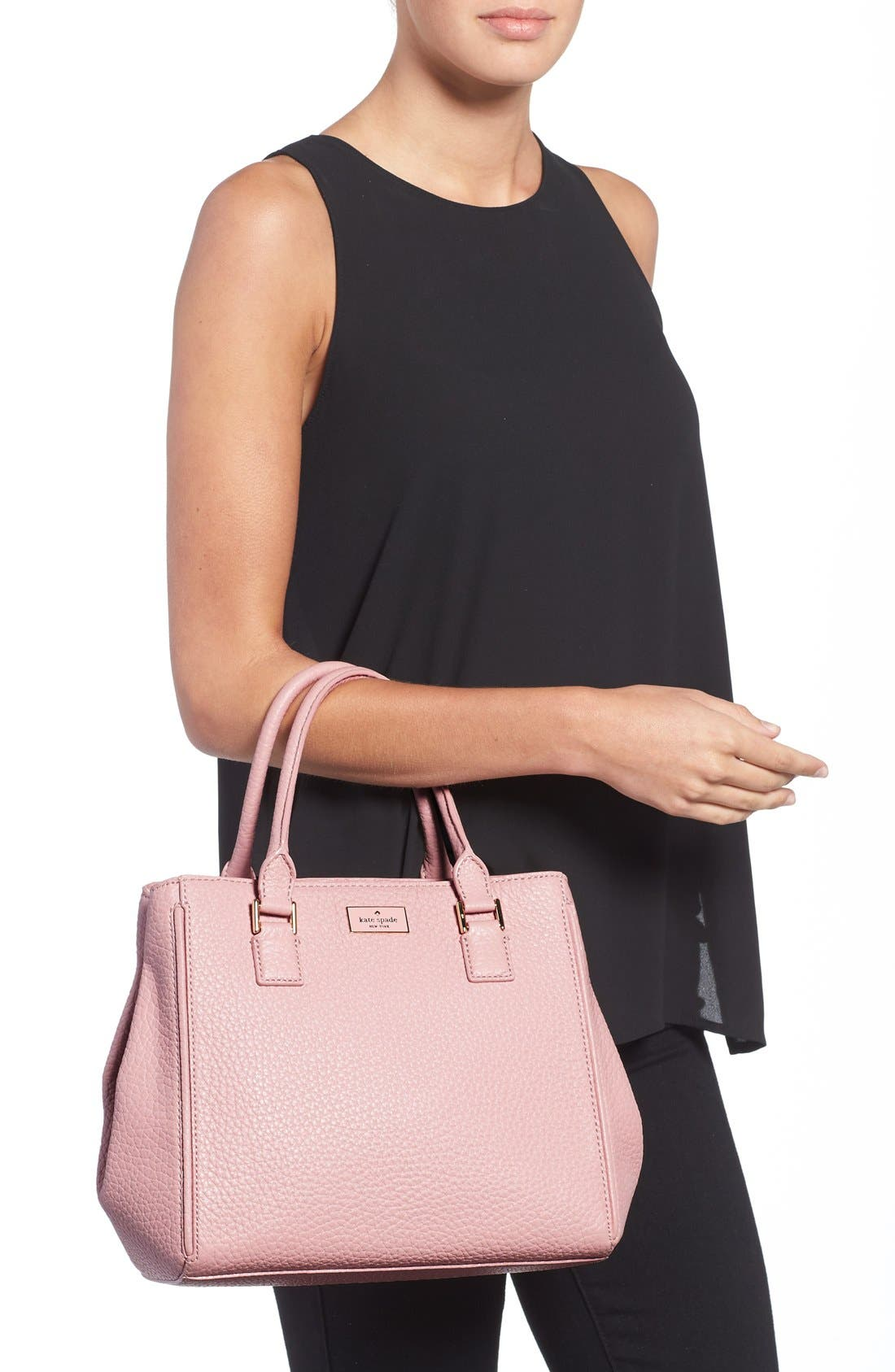 Alternate Image 2  - kate spade new york 'prospect place - maddie' grainy leather satchel