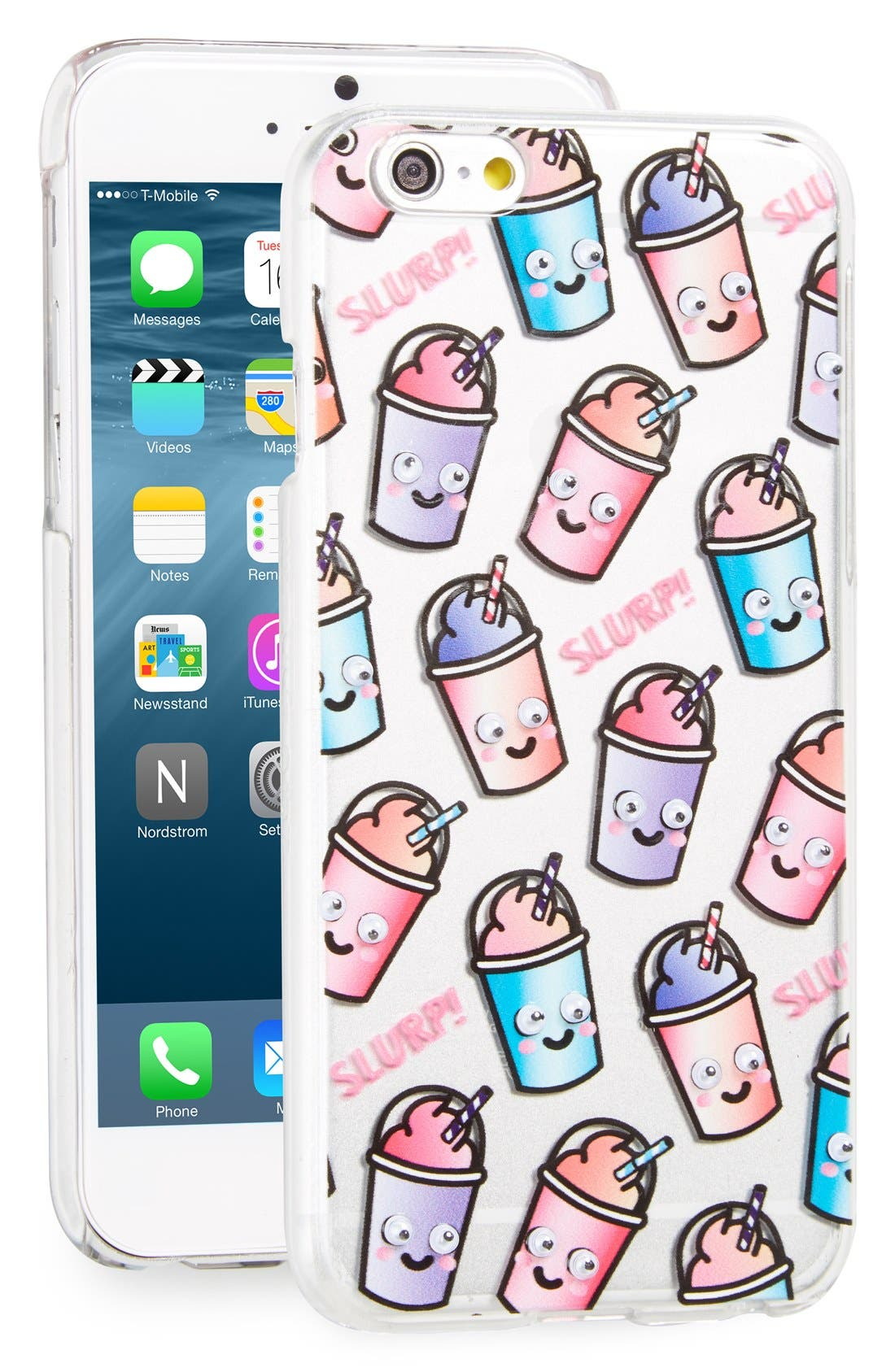 Main Image - Skinny Dip Slurp iPhone 6/6s Case