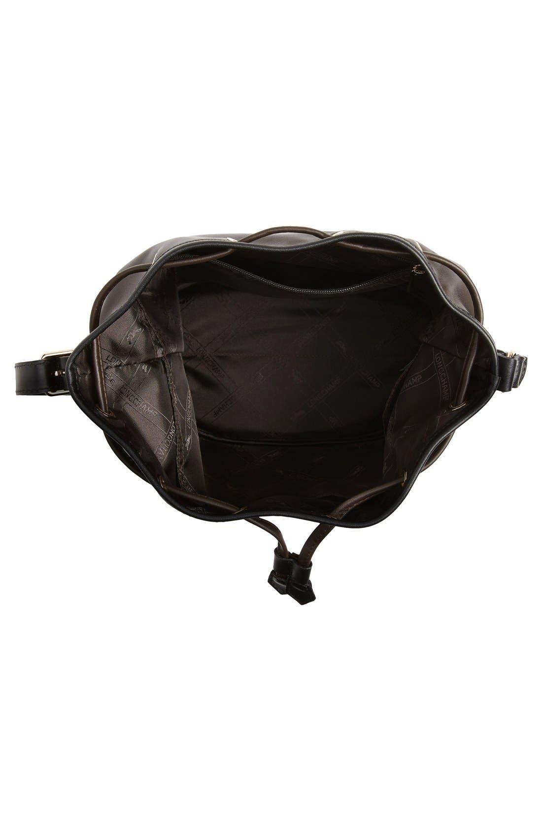 Alternate Image 4  - Longchamp 'Small 2.0' Leather Bucket Bag