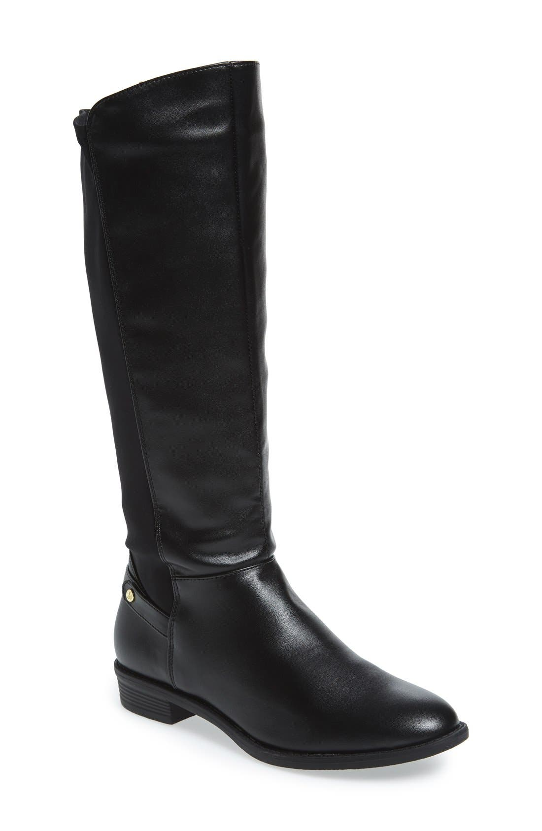 Alternate Image 1 Selected - Sam Edelman 'Pia Lillian' Riding Boot (Toddler, Little Kid & Big Kid)