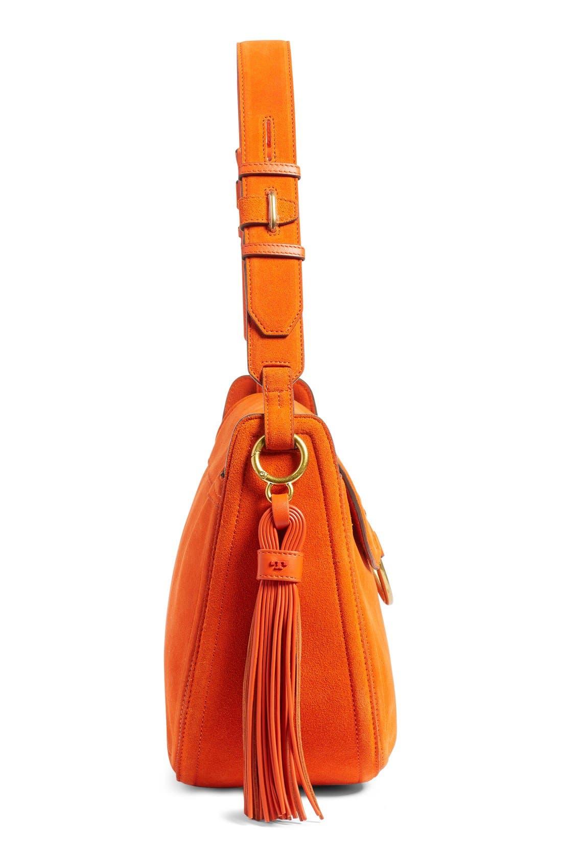 Alternate Image 5  - Tory Burch Leather Shoulder Bag