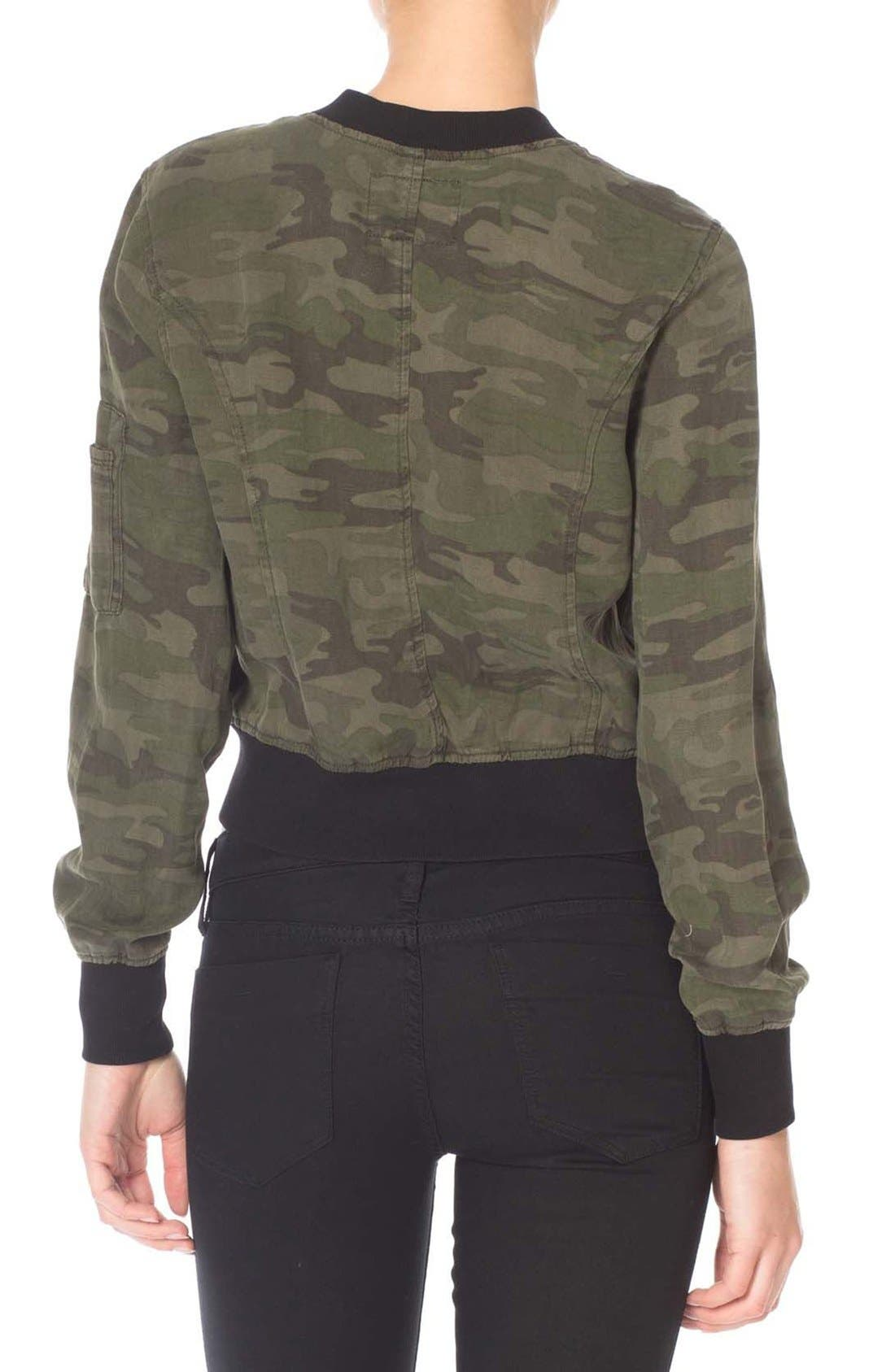 Alternate Image 3  - Sanctuary Camo Print Bomber Jacket