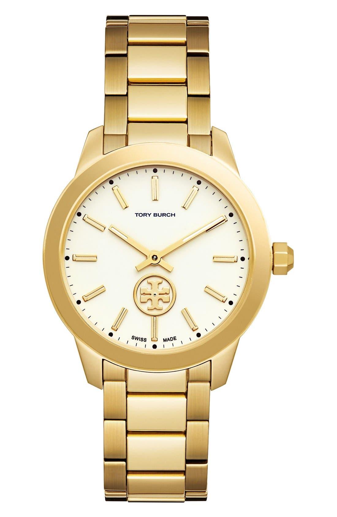 Tory Burch 'Collins' Bracelet Watch, 38mm