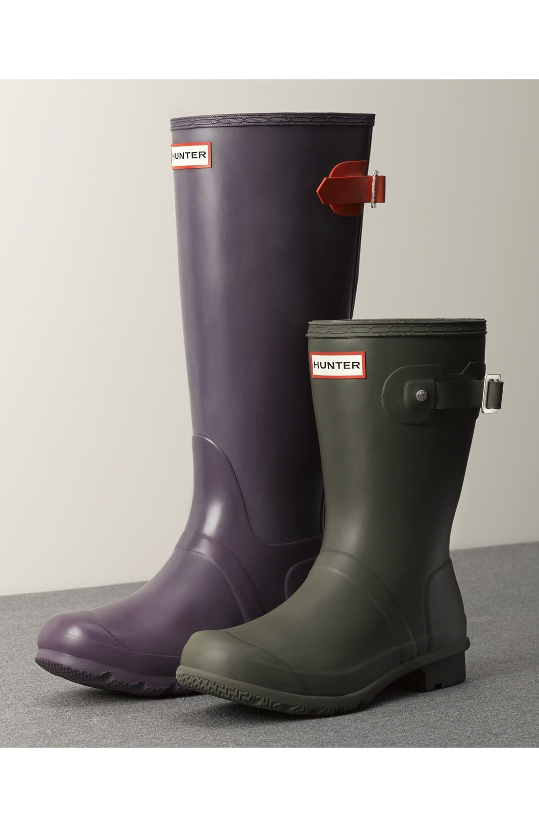 Alternate Image 8  - Hunter Adjustable Calf Rain Boot (Women)