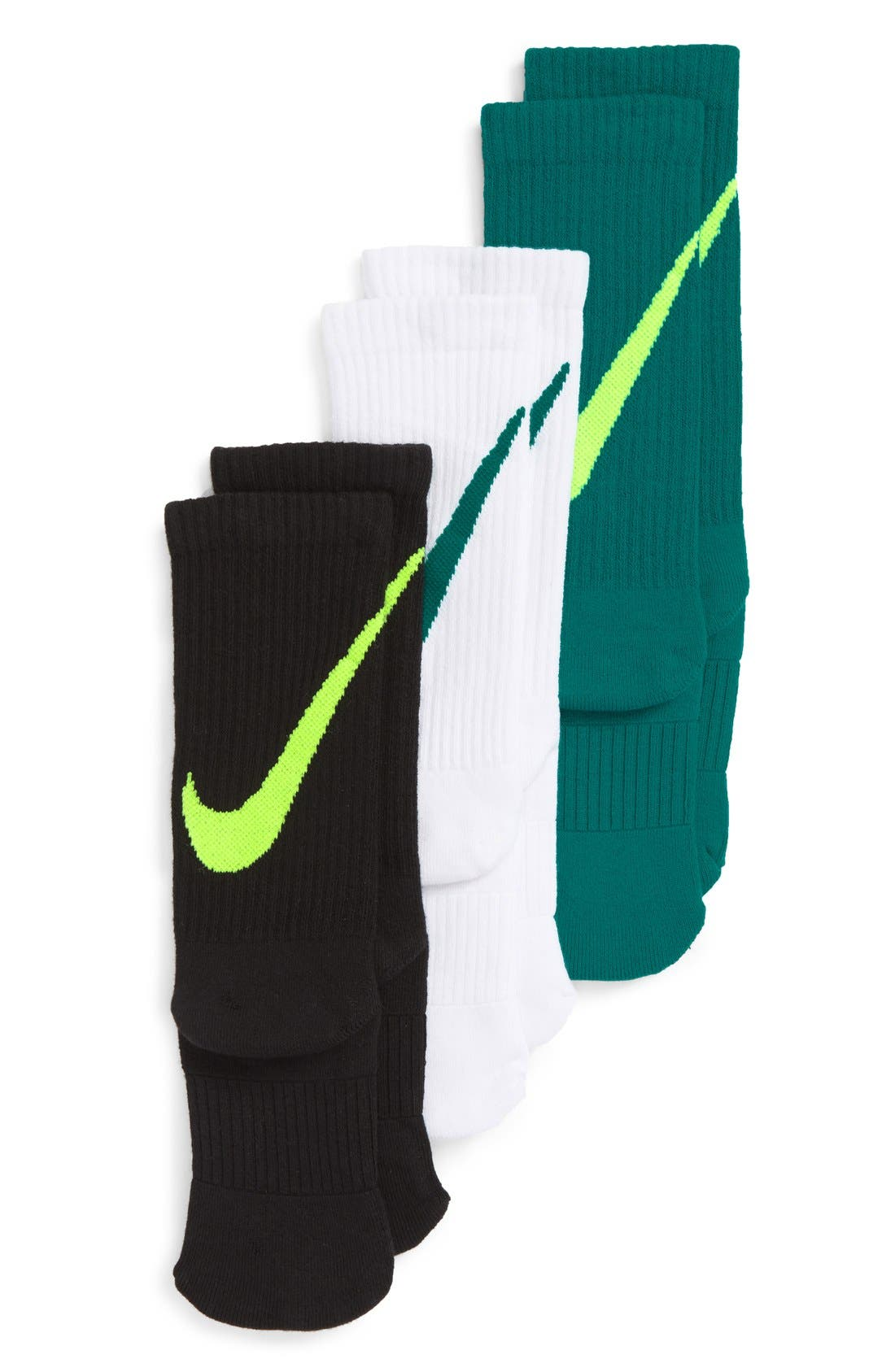Nike 3-Pack Crew Socks (Kids)