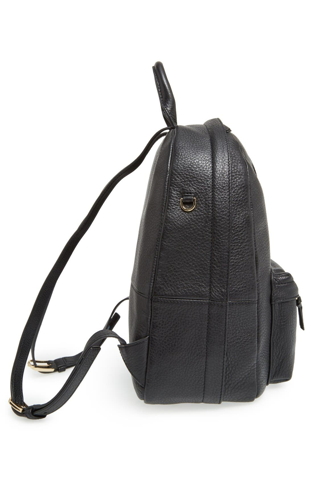 Alternate Image 5  - Tory Burch Pebbled Leather Backpack