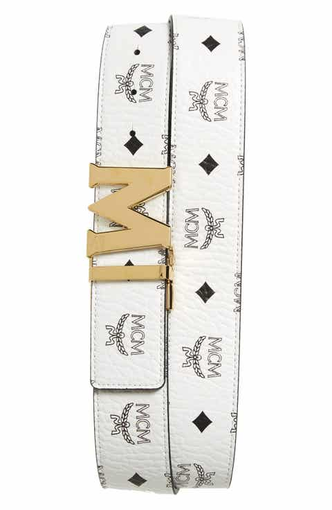 MCM Leather Belt