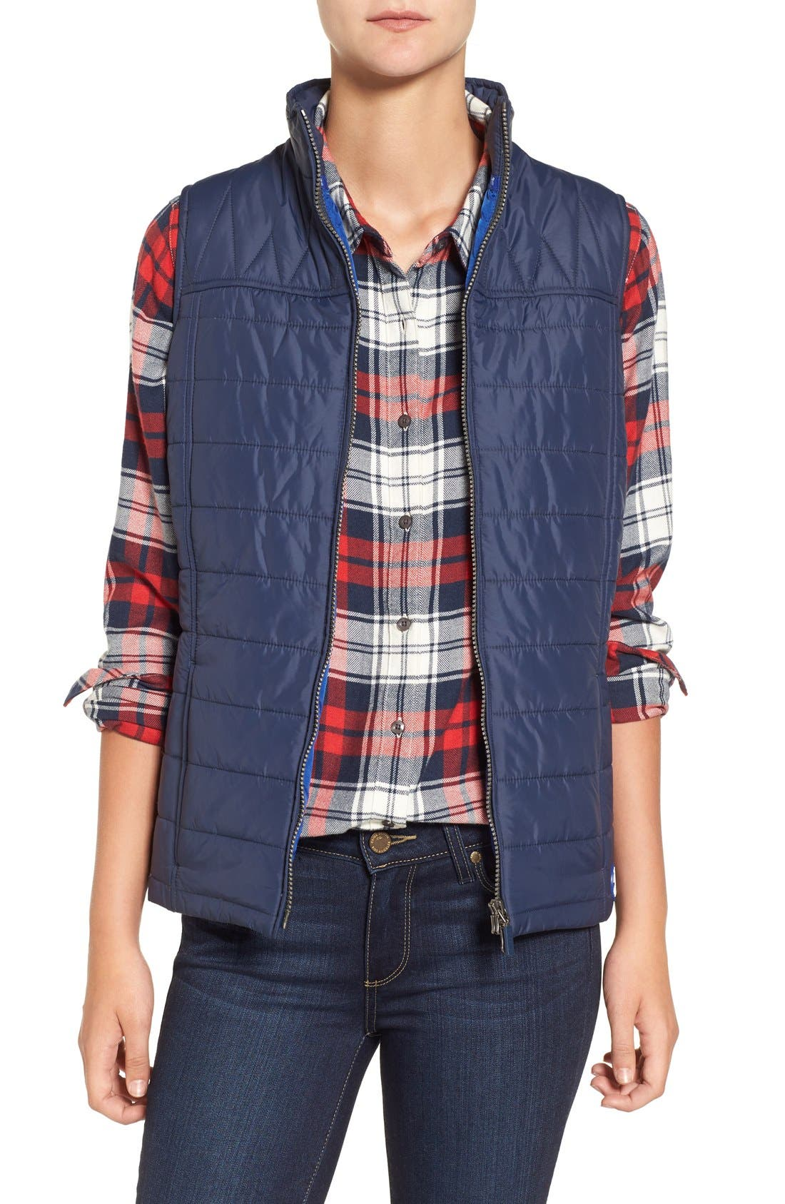 Alternate Image 1 Selected - Barbour 'Brae' Quilted Vest