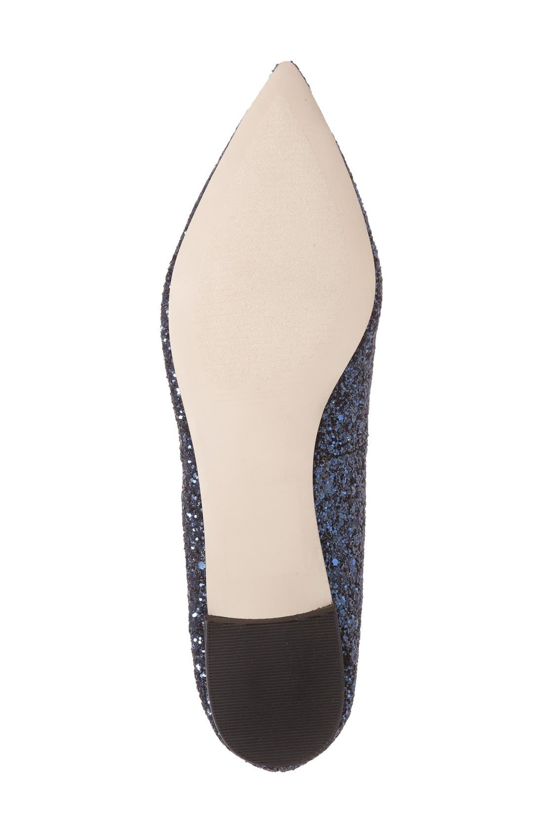 Alternate Image 4  - Sole Society 'Cammila' Pointy Toe Loafer (Women)