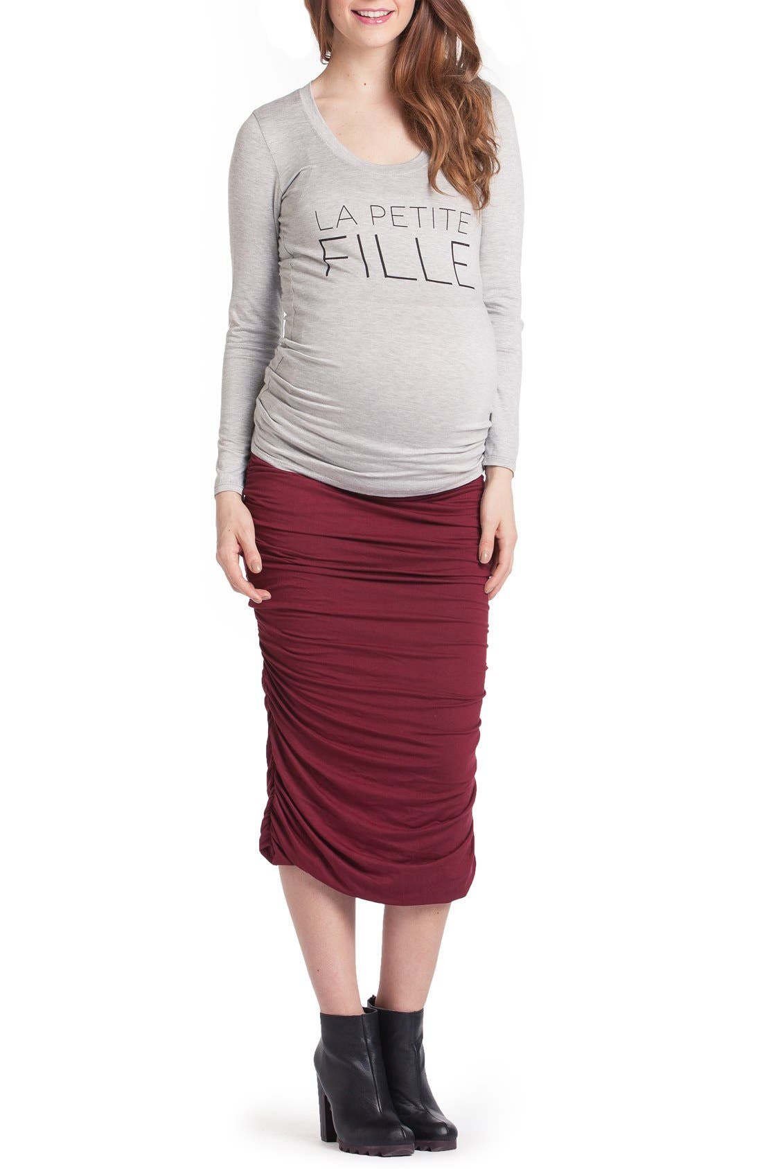 LILAC CLOTHING Frenchie - Mom To Be Maternity