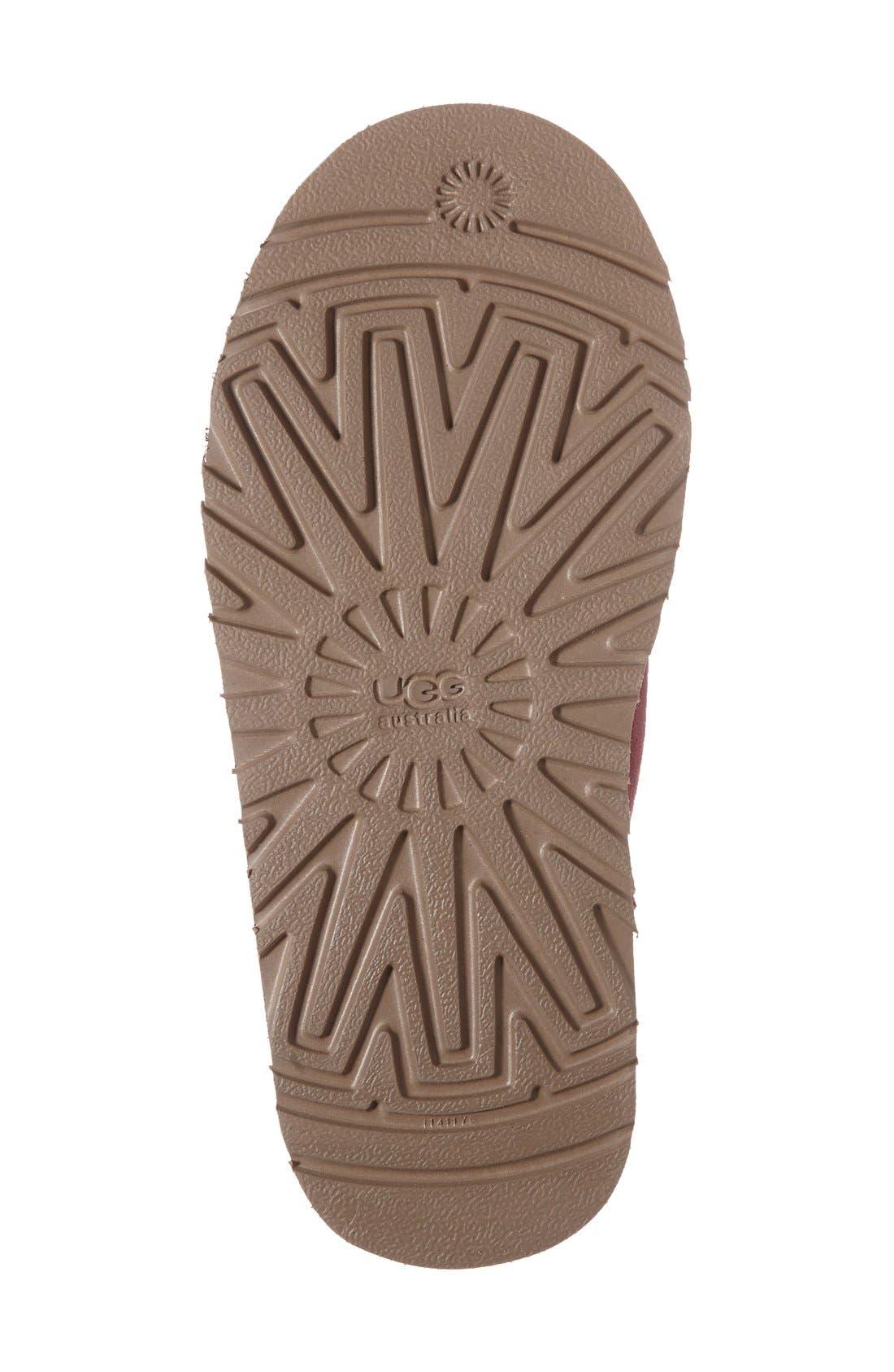Alternate Image 4  - UGG® 'Kandice' Genuine Shearling Lined Short Boot (Walker, Little Kid & Big Kid)