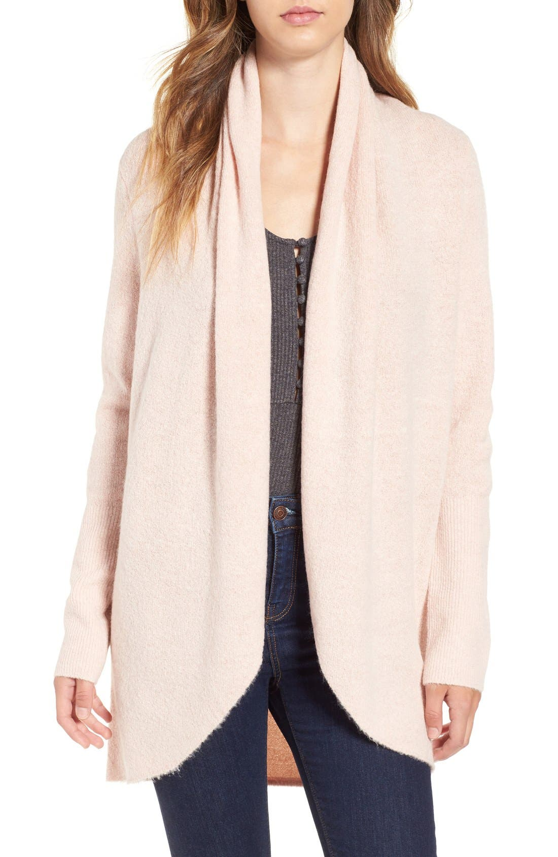 Alternate Image 1 Selected - Leith Cocoon Knit Cardigan