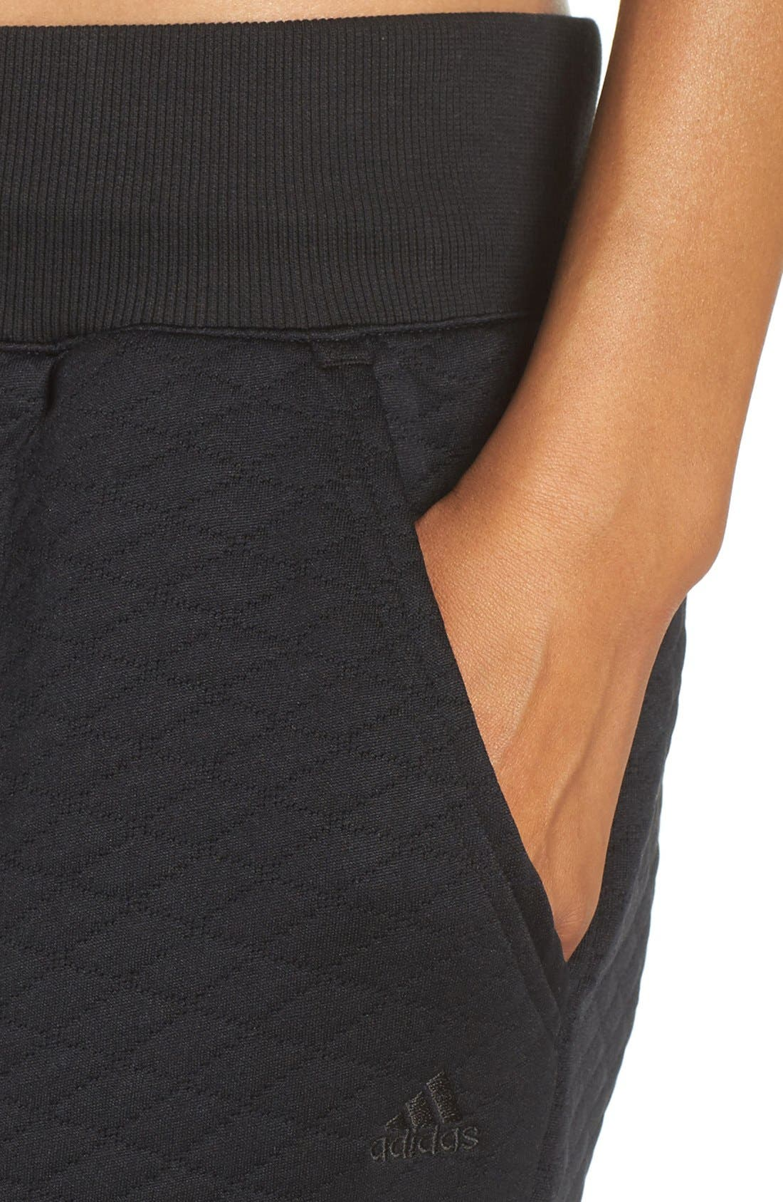 Alternate Image 4  - adidas Quilted Pants