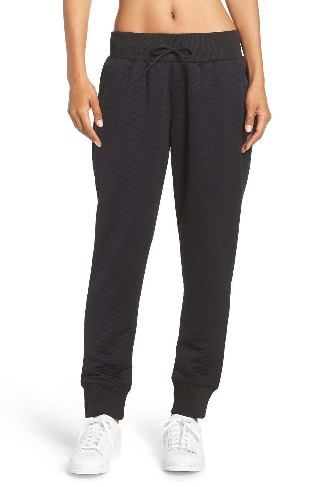 Alternate Image 1 Selected - adidas Quilted Pants