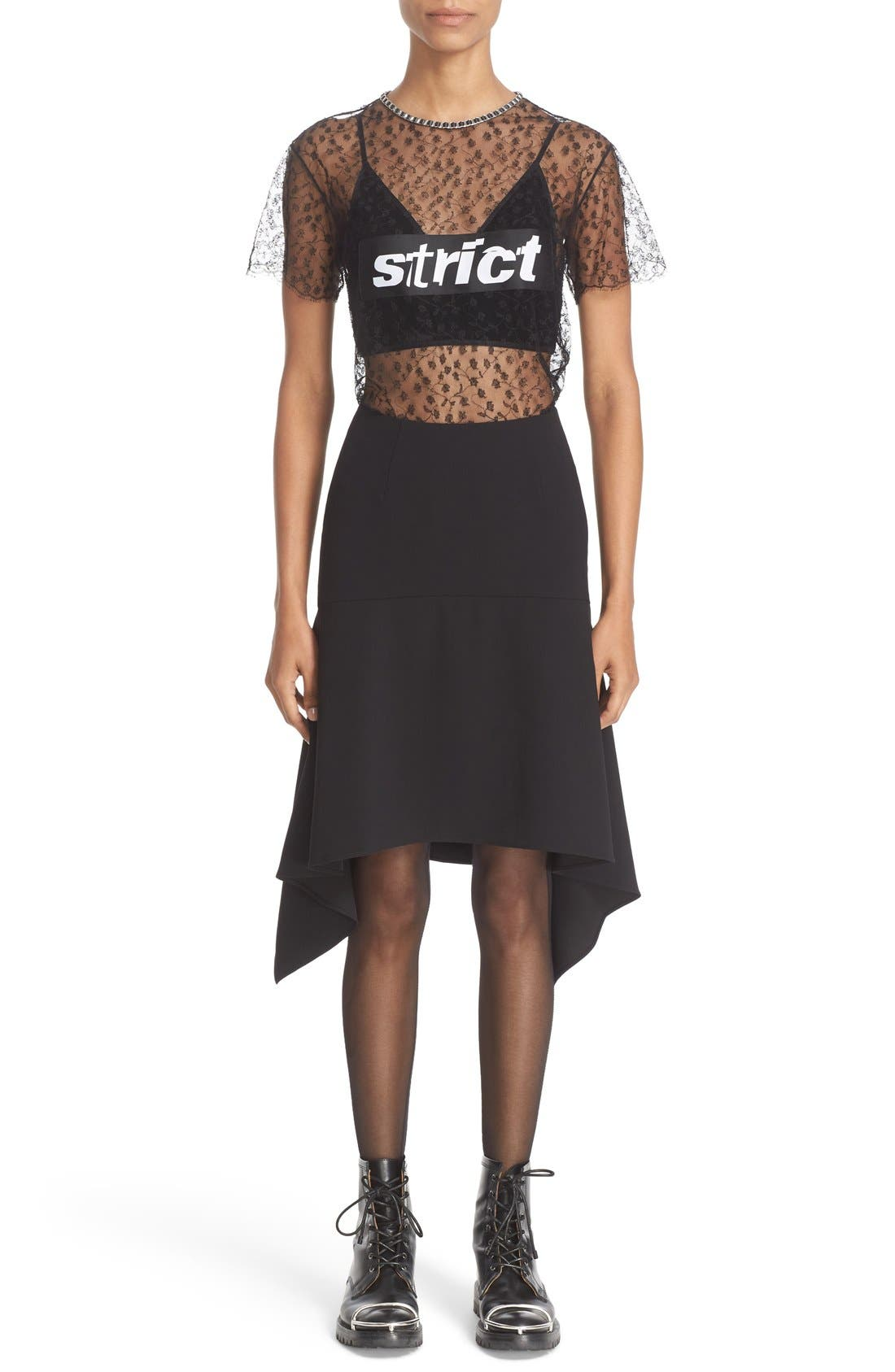 Alternate Image 7  - Alexander Wang 'Strict' Lace Tee