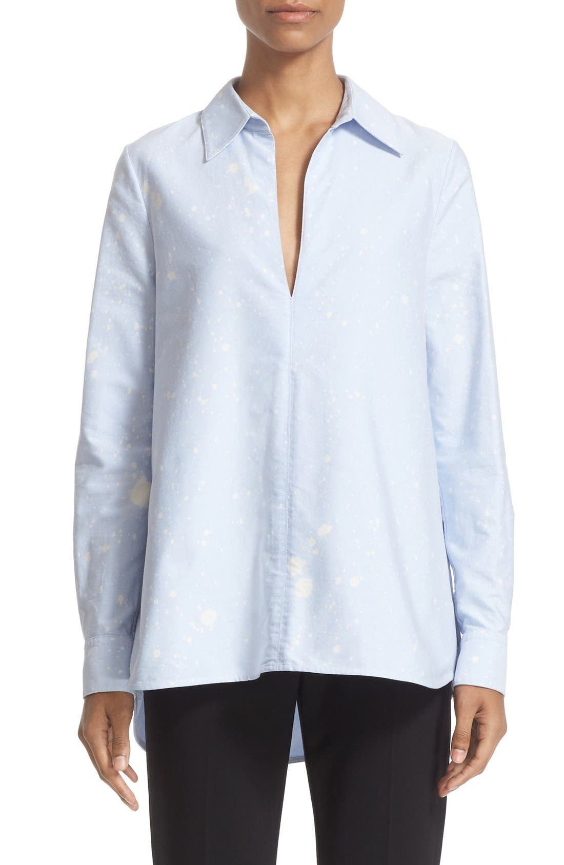 ALEXANDER WANG Bleach Splatter A-Line Tunic Top
