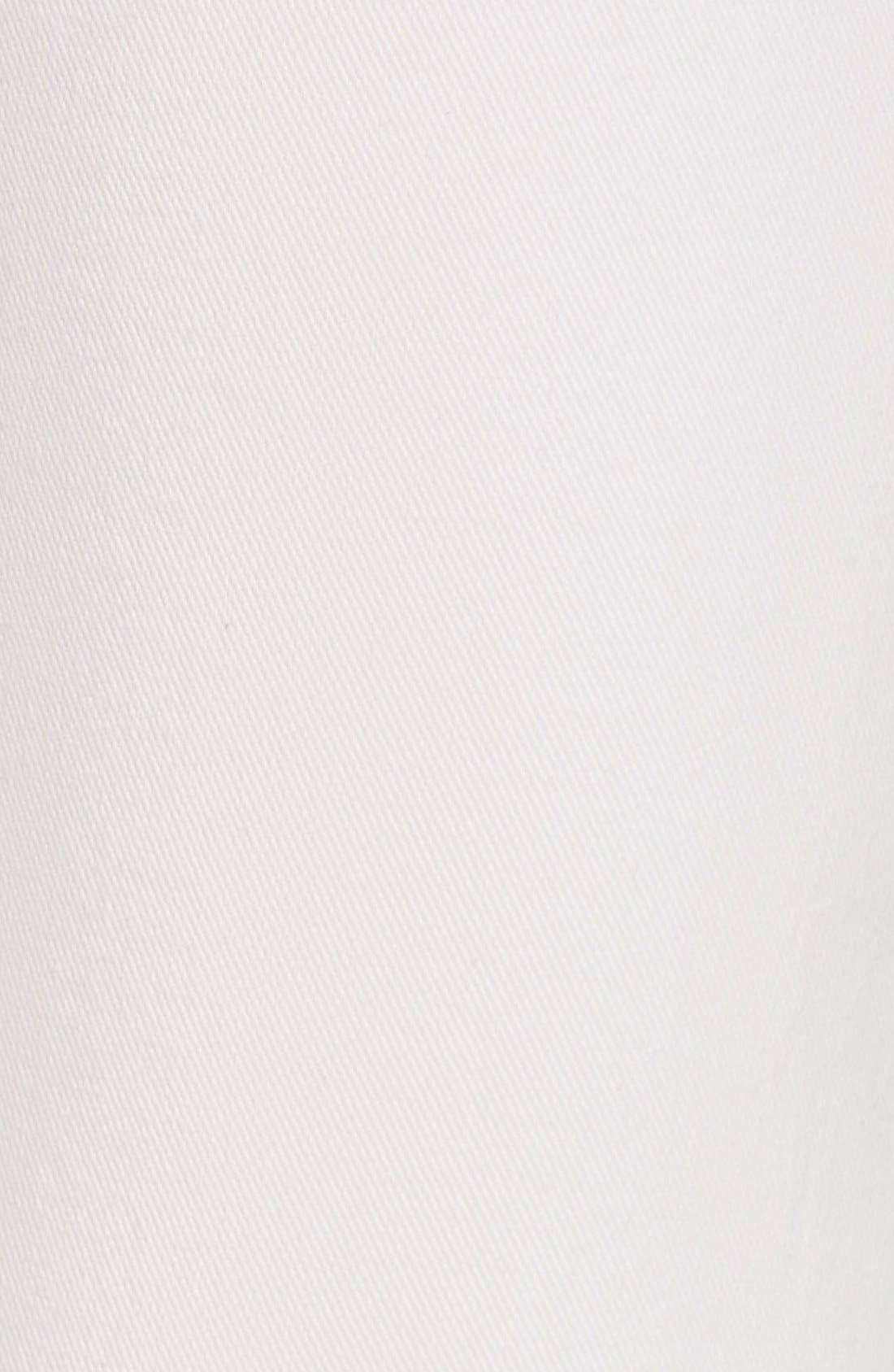 Alternate Image 5  - Current/Elliott 'The Zip Moto' Ankle Skinny Jeans (Dirty White Noise)