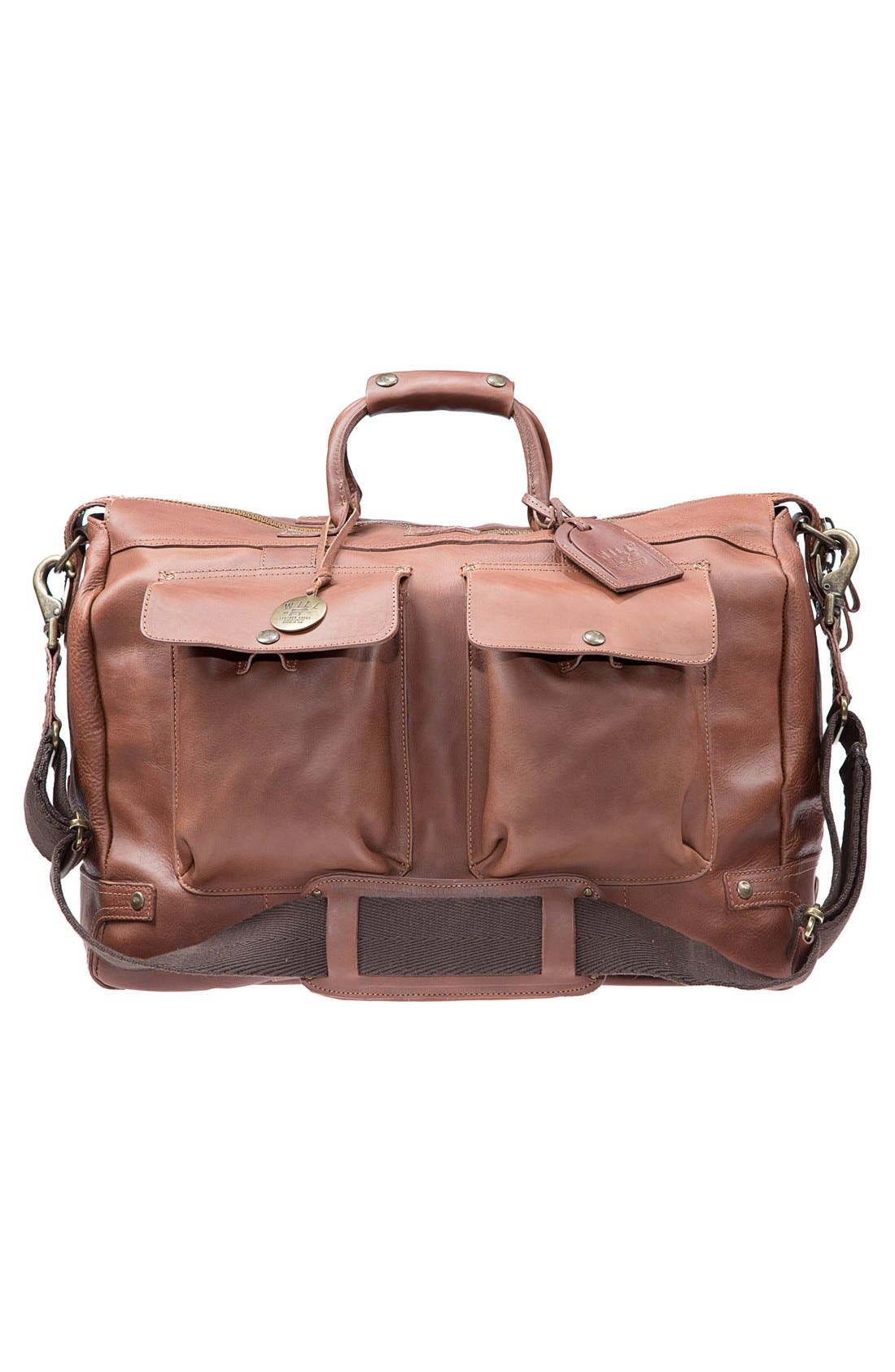 Main Image - Will Leather Goods 'Traveler' Duffel Bag