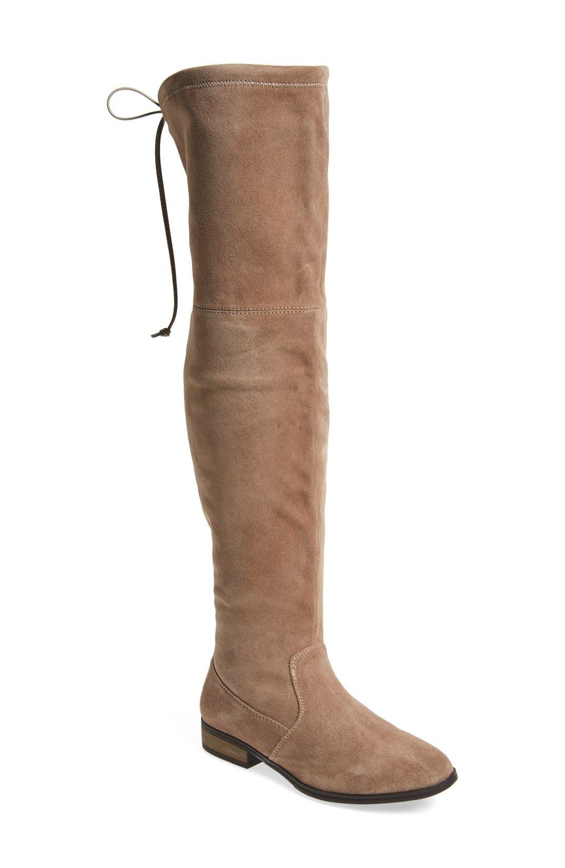 Main Image - Sole Society 'Valencia' Over the Knee Boot (Women)