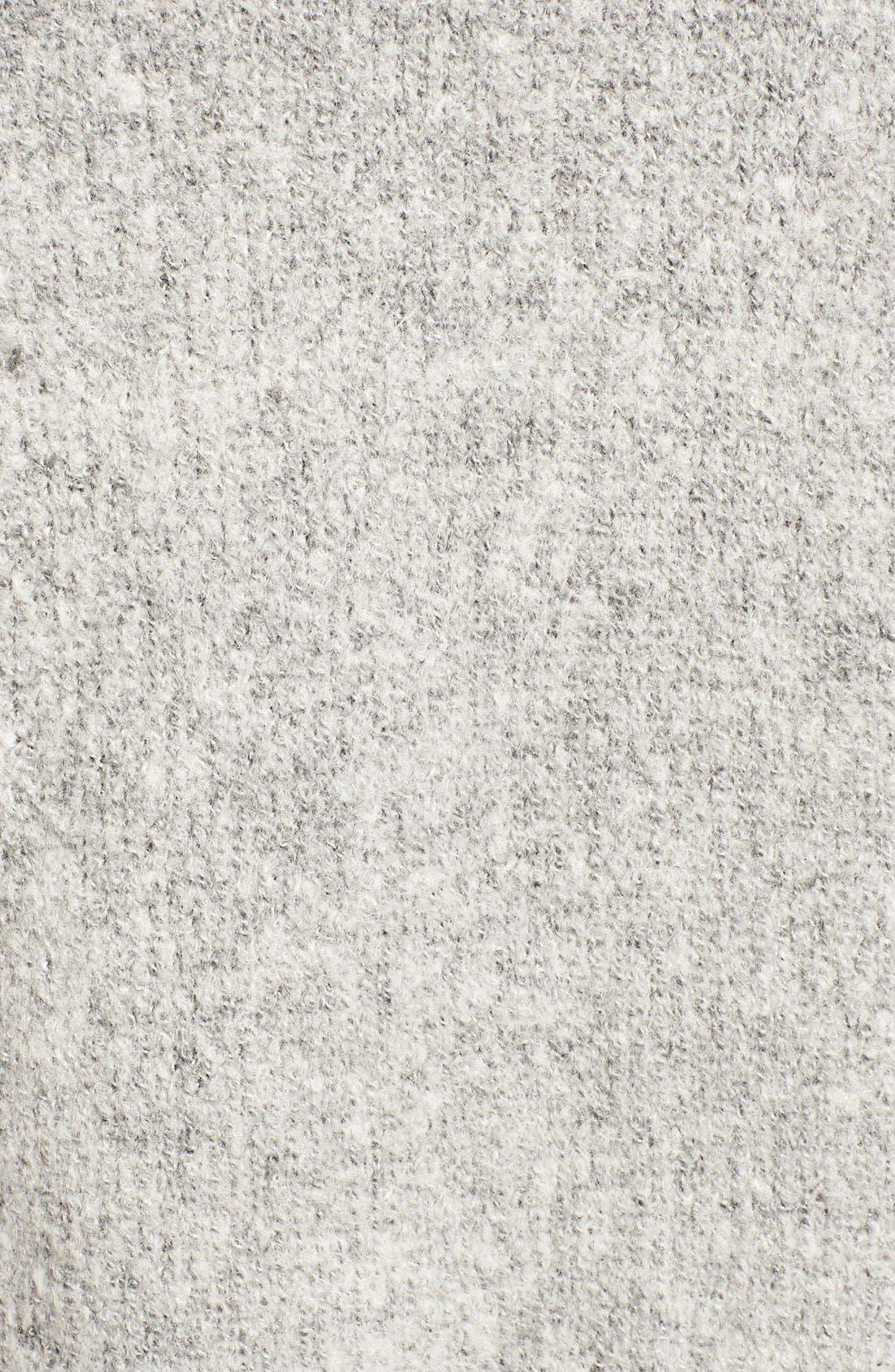 Alternate Image 5  - BLANKNYC 'Textationship' Knit Hooded Cardigan