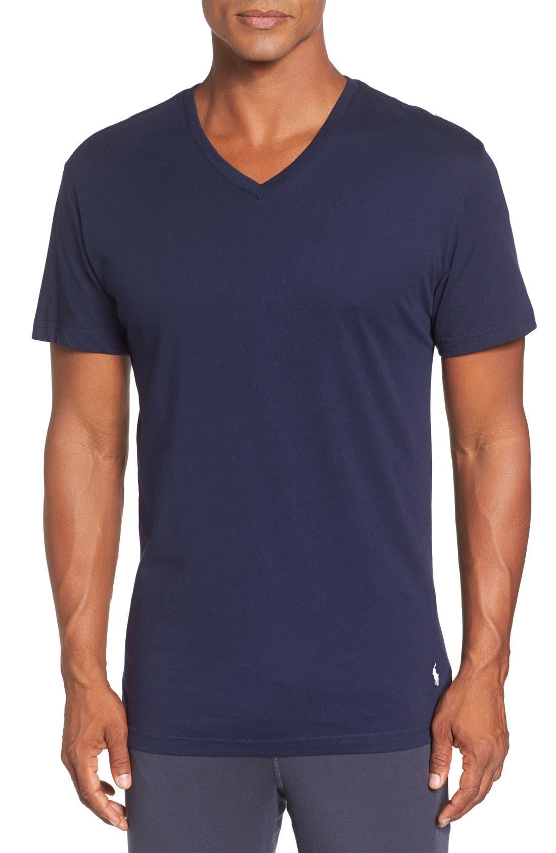 Alternate Image 2  - Polo Ralph Lauren 3-Pack Trim Fit T-Shirt