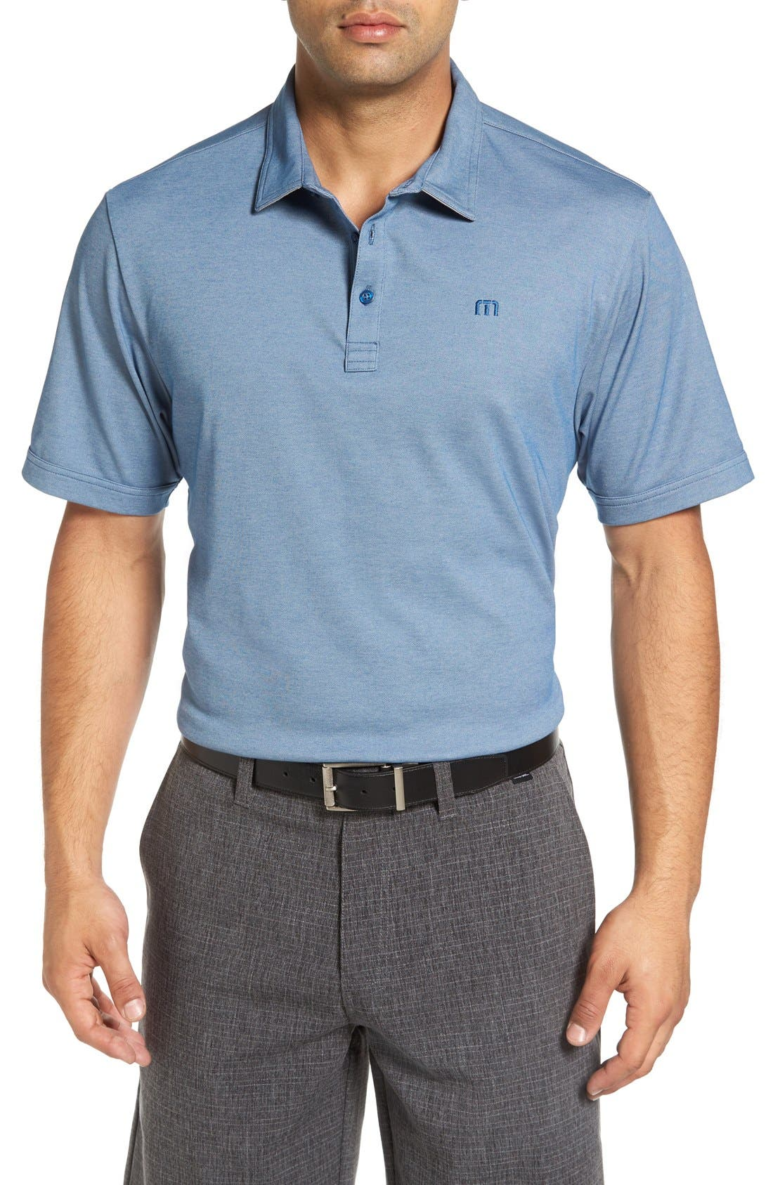Travis Mathew Stratman Pima Cotton Blend Golf Polo | Nordstrom