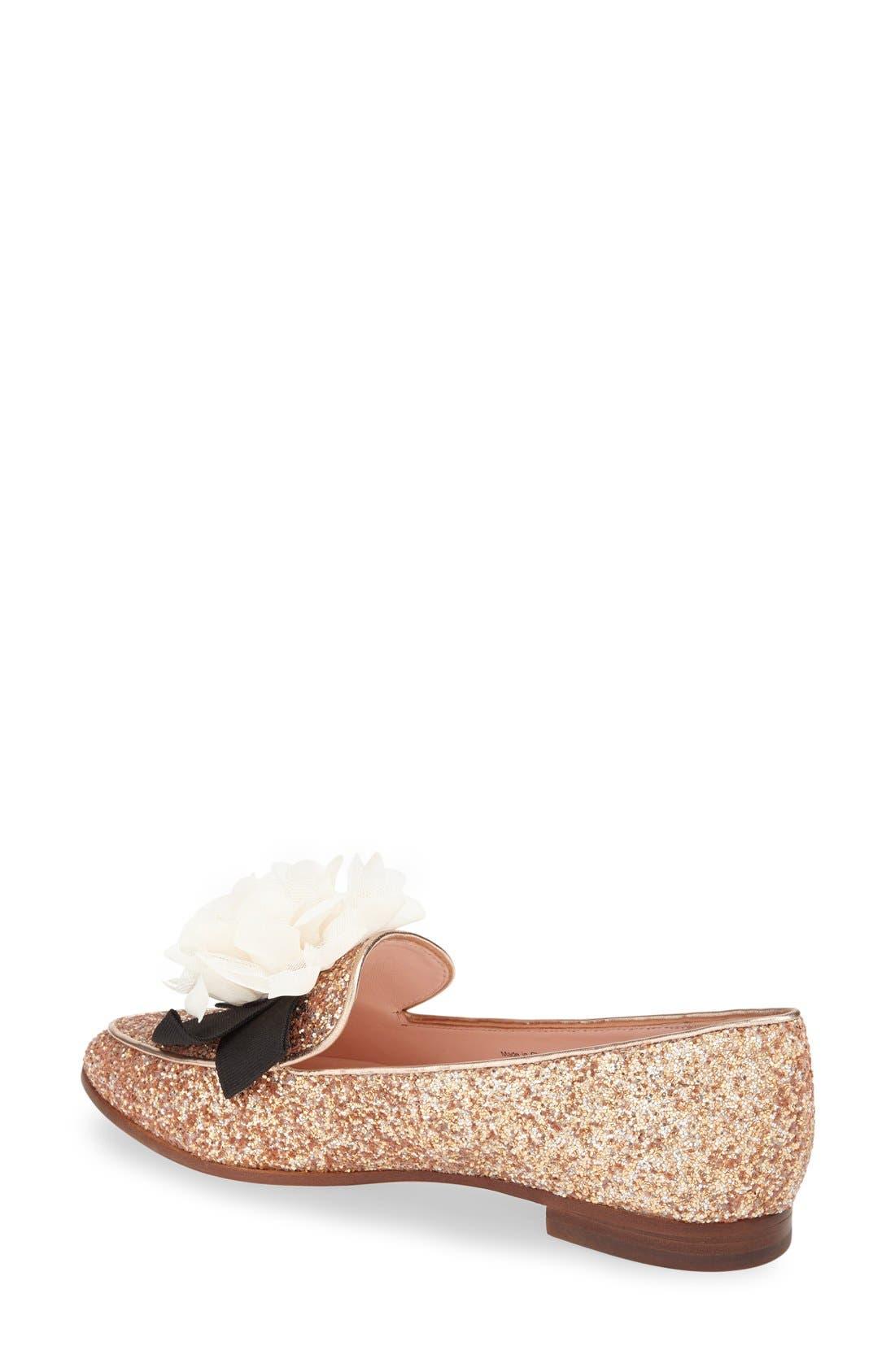 Alternate Image 2  - kate spade new york 'cinda' flower loafer (Women)