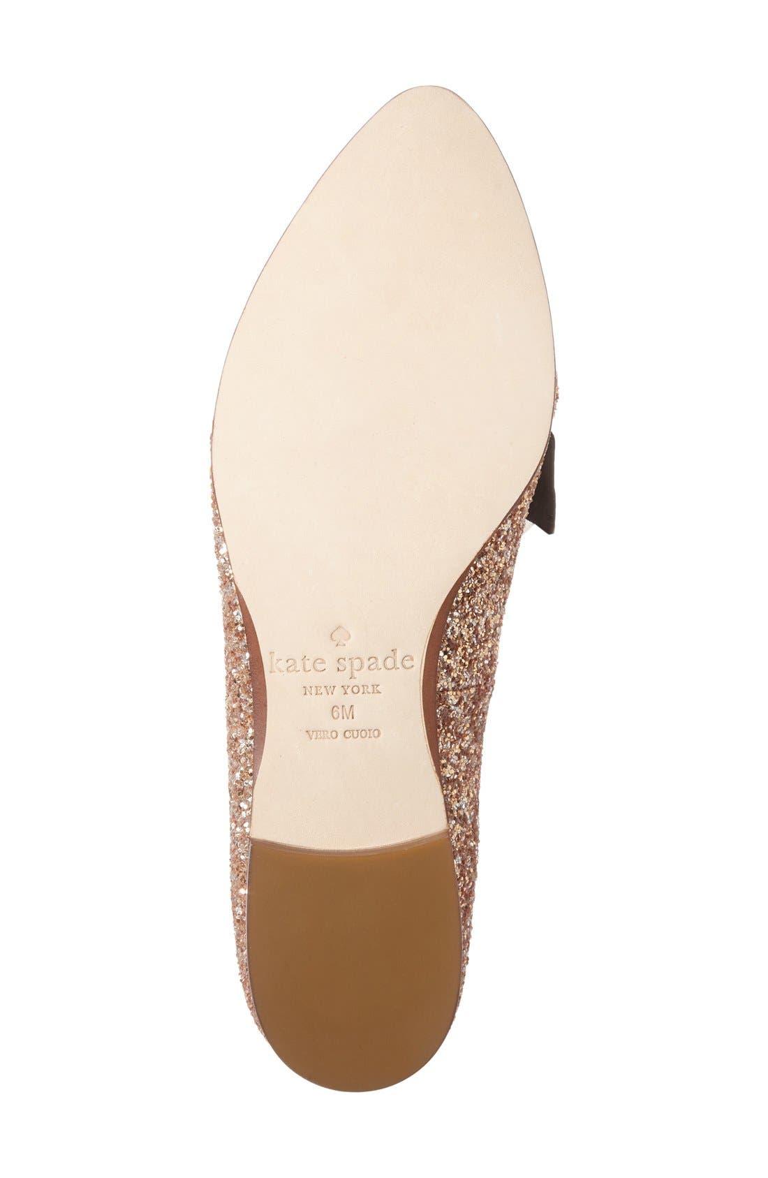 Alternate Image 4  - kate spade new york 'cinda' flower loafer (Women)