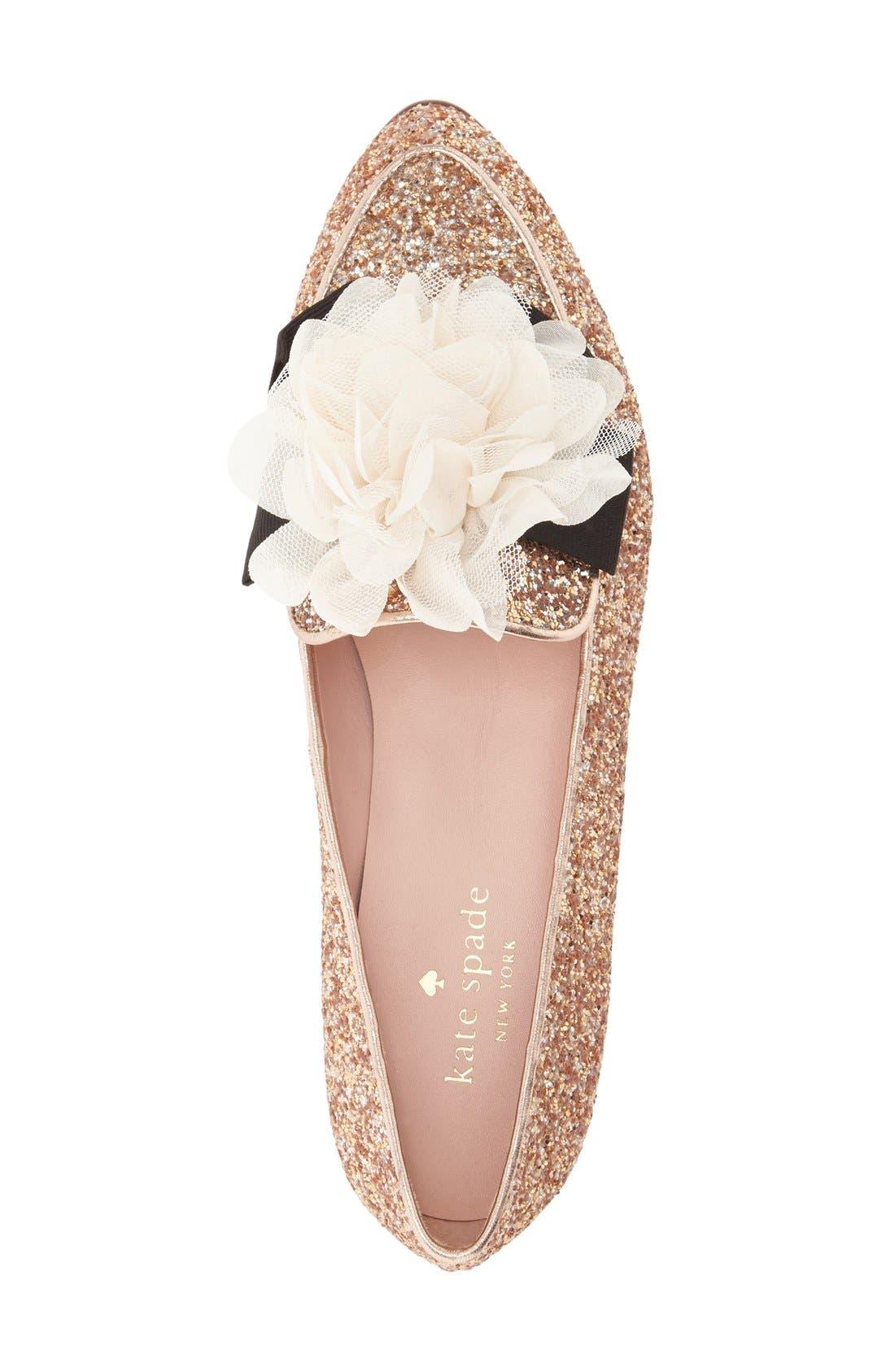 Alternate Image 3  - kate spade new york 'cinda' flower loafer (Women)
