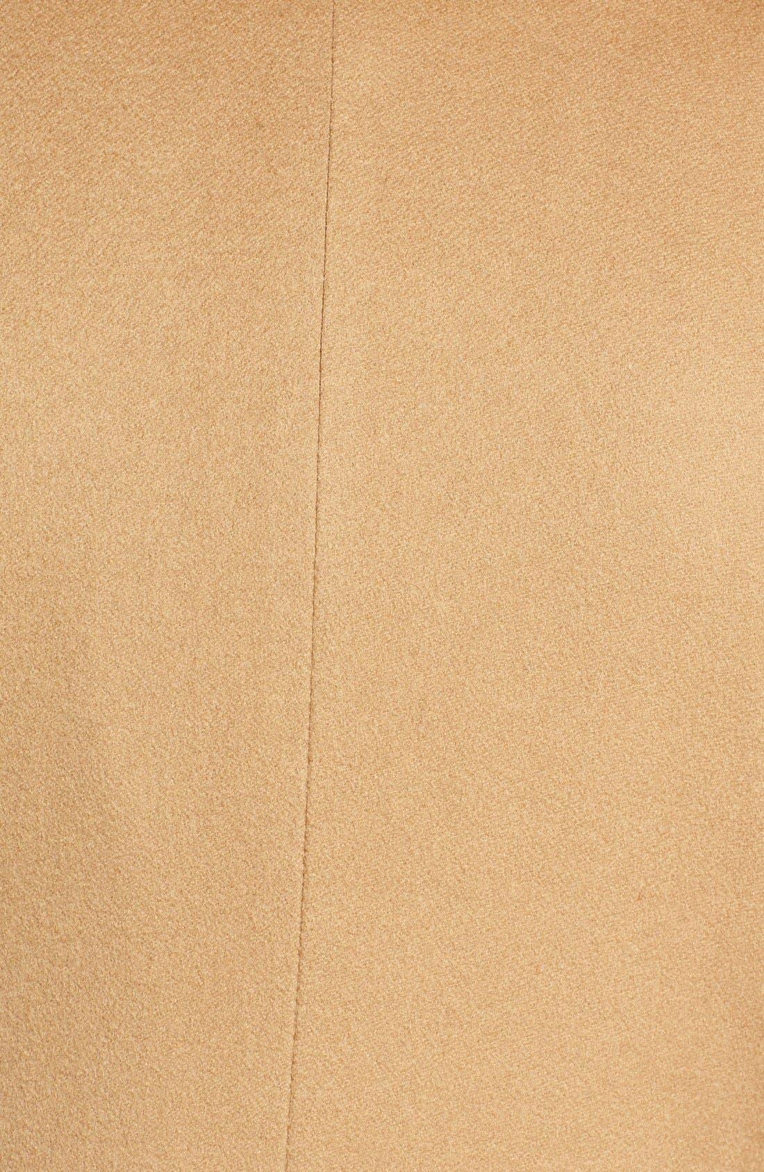 Alternate Image 5  - Fleurette Notch Collar Lightweight Cashmere Coat