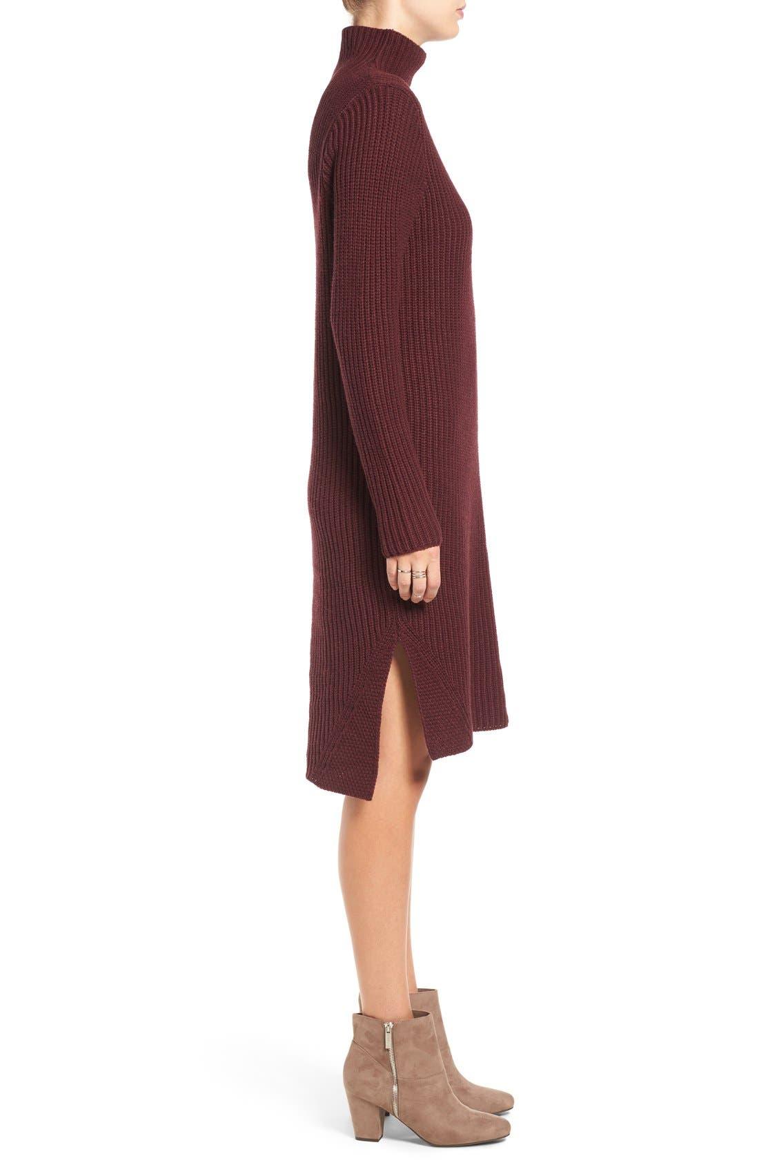 Alternate Image 3  - BP. Mock Neck Knit Sweater Dress