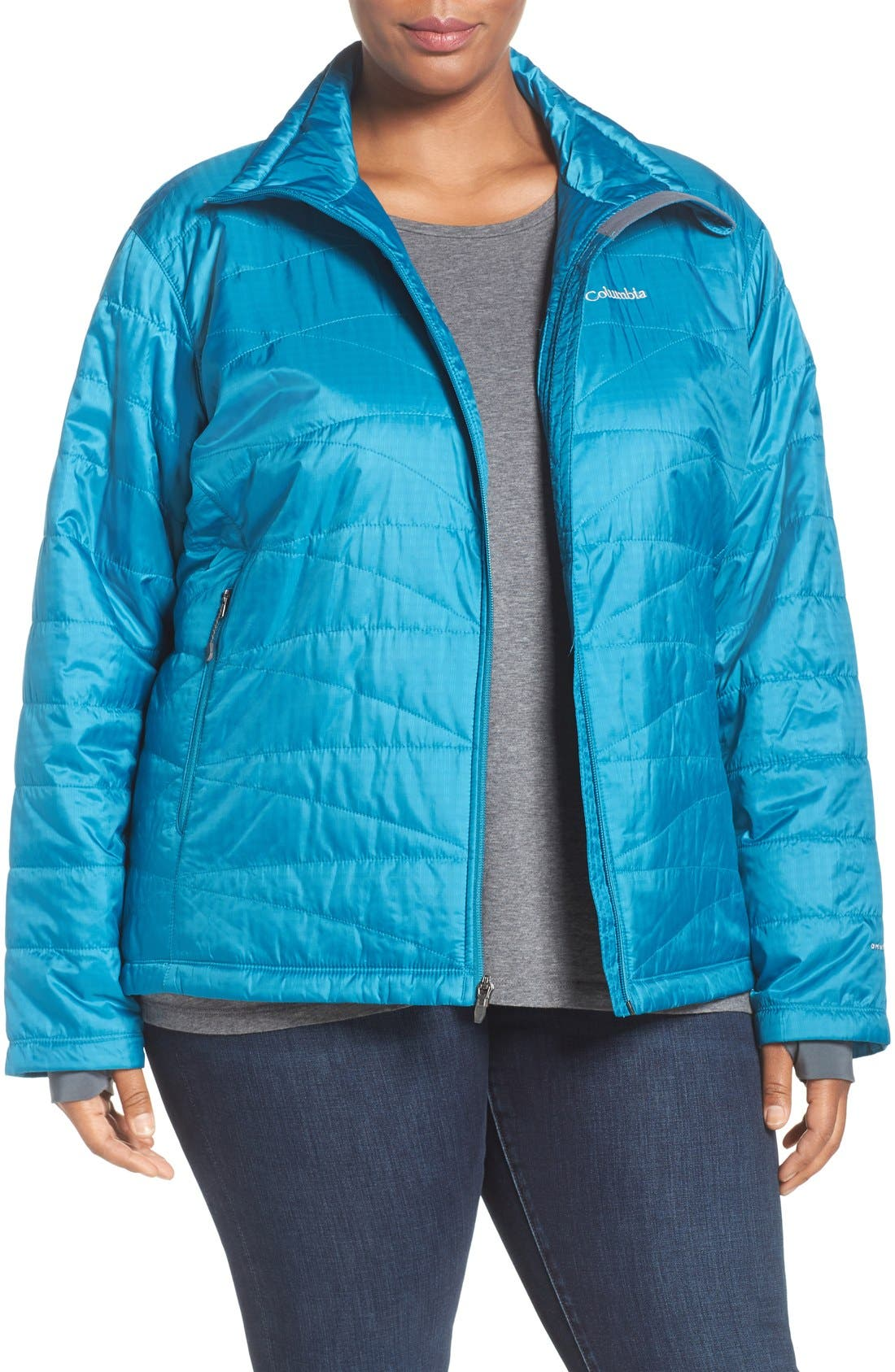 Alternate Image 1 Selected - Columbia 'Mighty Lite' Jacket (Plus Size)