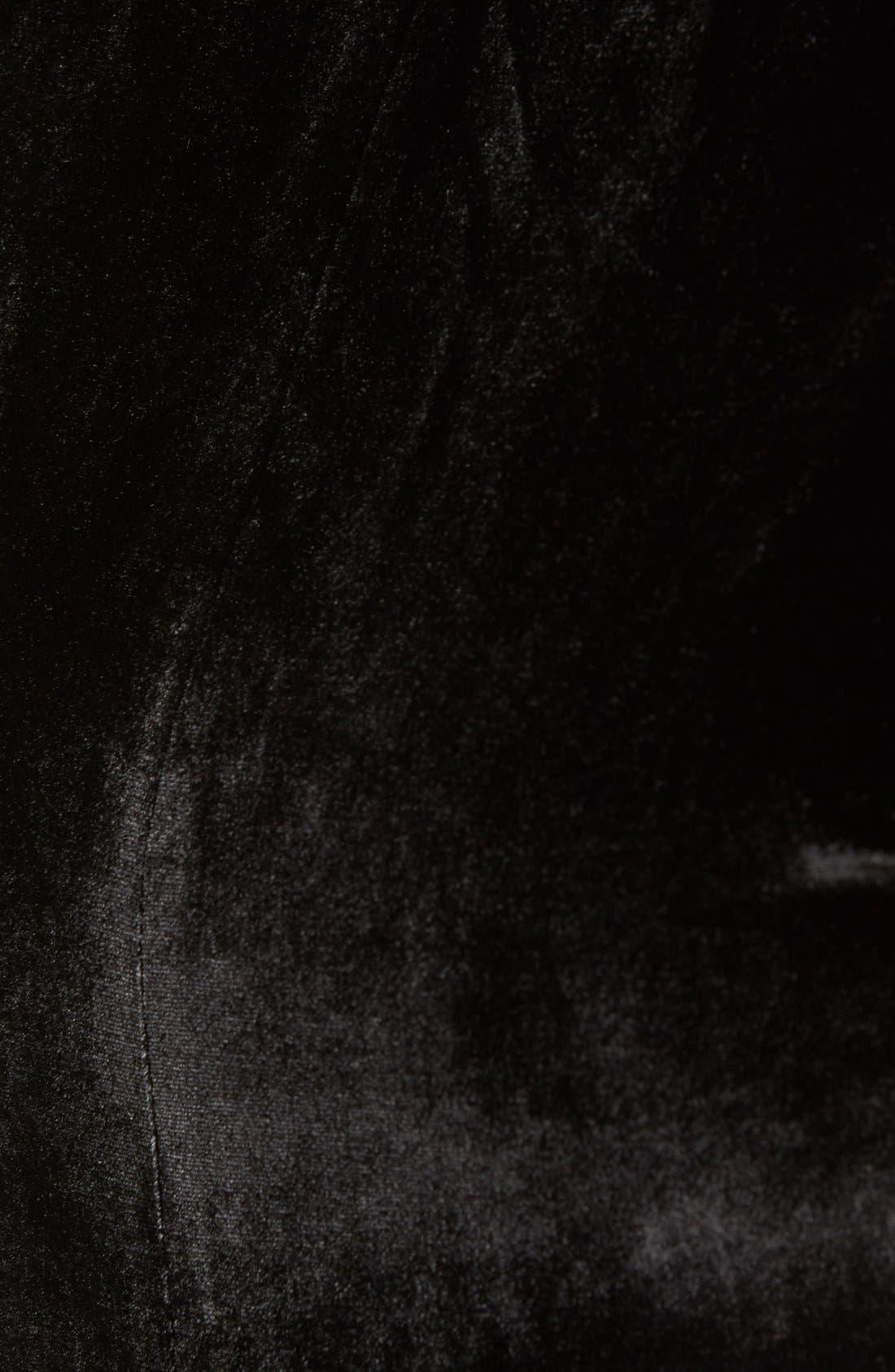 Alternate Image 5  - KENDALL + KYLIE Velvet Crop Top