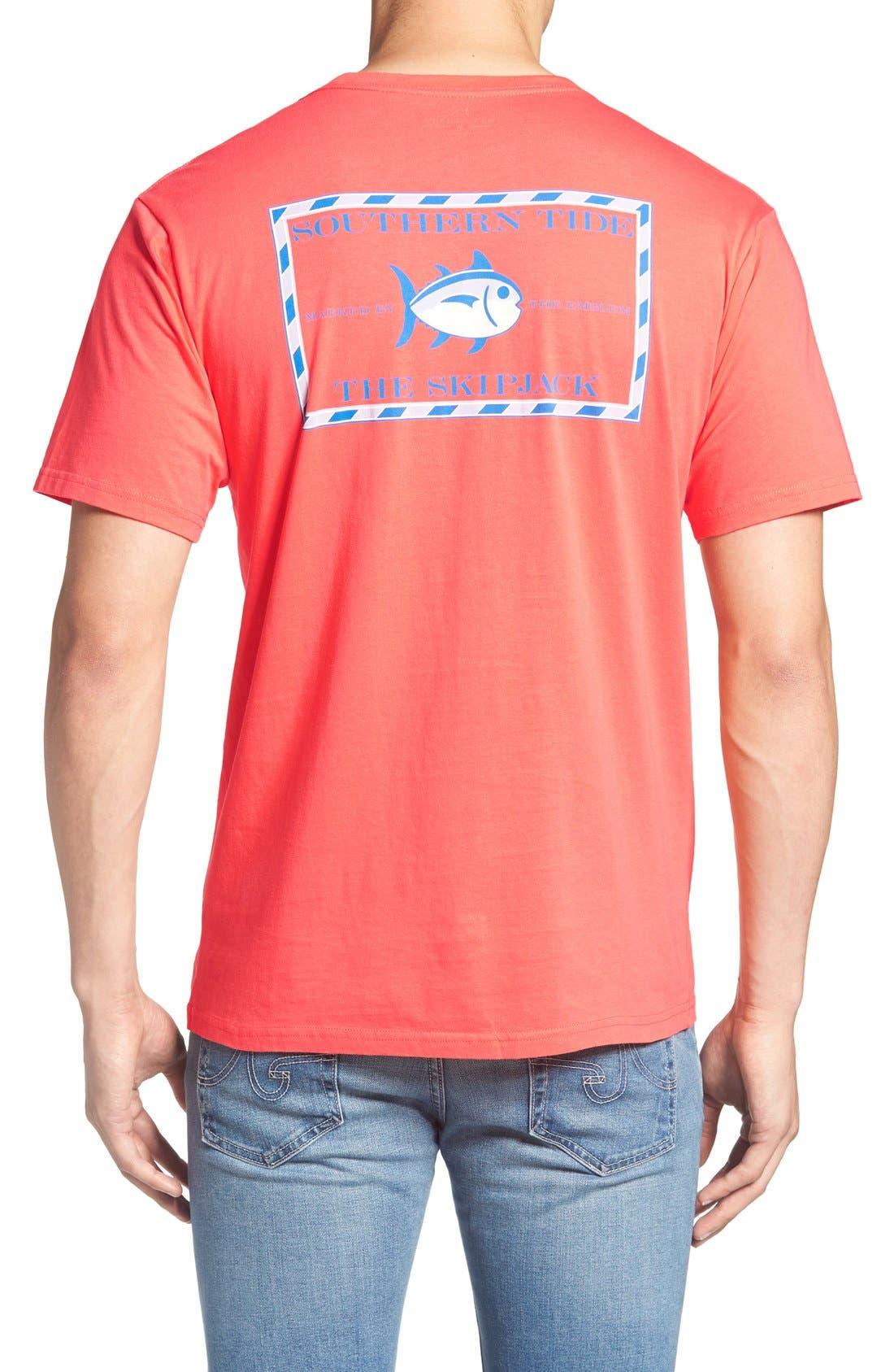 Alternate Image 1 Selected - Southern Tide Short Sleeve Skipjack T-Shirt