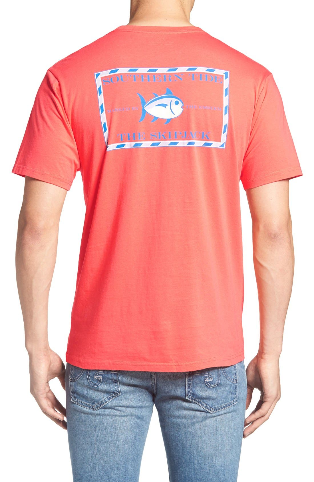 SOUTHERN TIDE Short Sleeve Skipjack T-Shirt