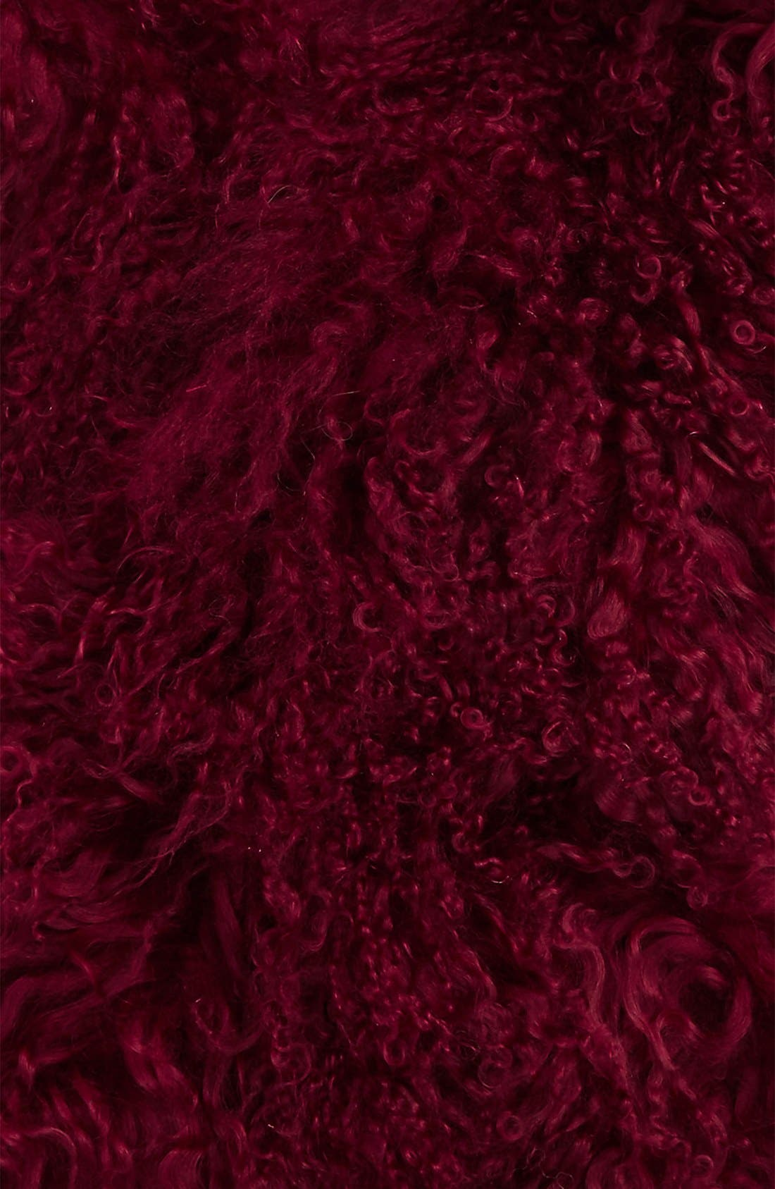 Alternate Image 3  - Toria Rose Genuine Mongolian Lamb Fur Scarf