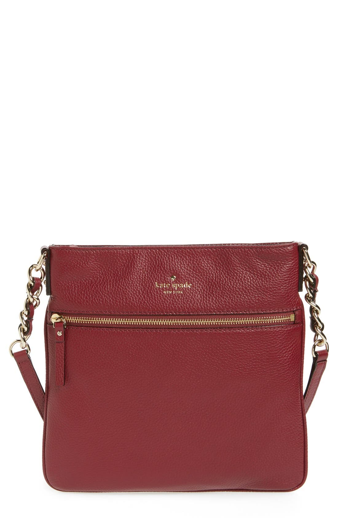 Alternate Image 1 Selected - kate spade new york 'cobble hill - ellen' leather crossbody bag
