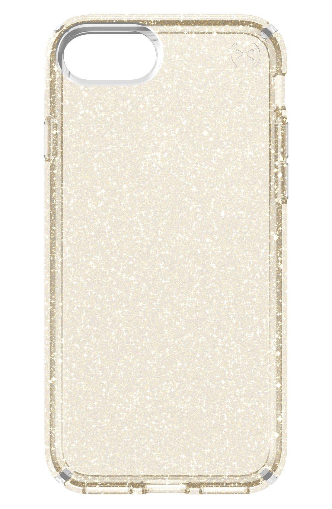 Speck CLEAR Glitter iPhone 7 & 7 Plus Case