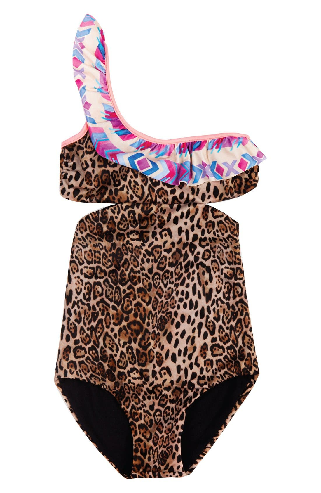 BOWIE X JAMES Cococolada One-Piece Cutout Swimsuit (Toddler Girls, Little Girls & Big Girls)