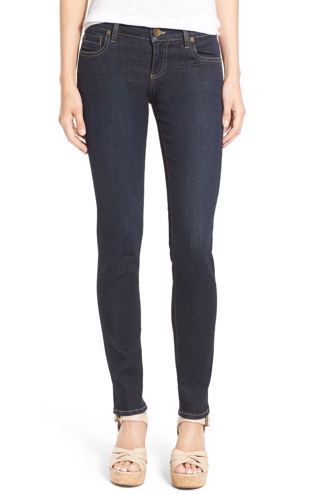 Alternate Image 1 Selected - KUT from the Kloth 'Catherine' Slim Boyfriend Jeans (Limitless) (Petite)