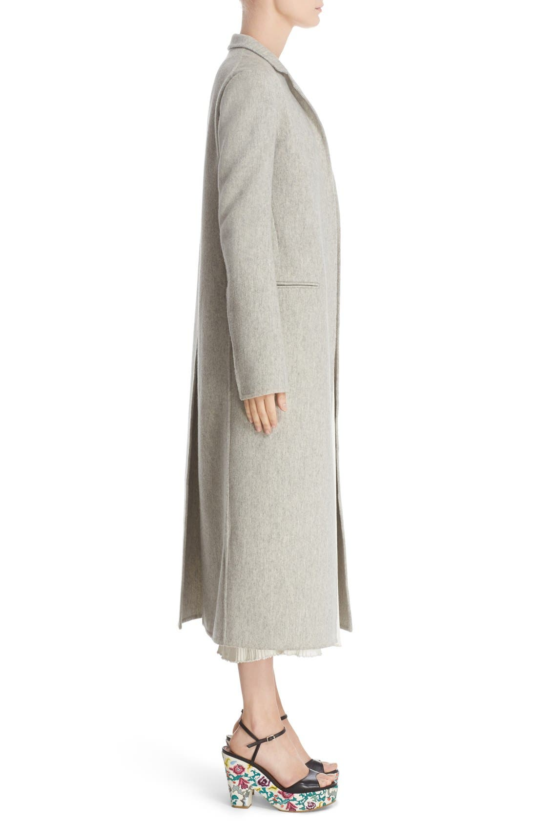 Alternate Image 5  - Adam Lippes Double Face Cashmere & Wool Coat