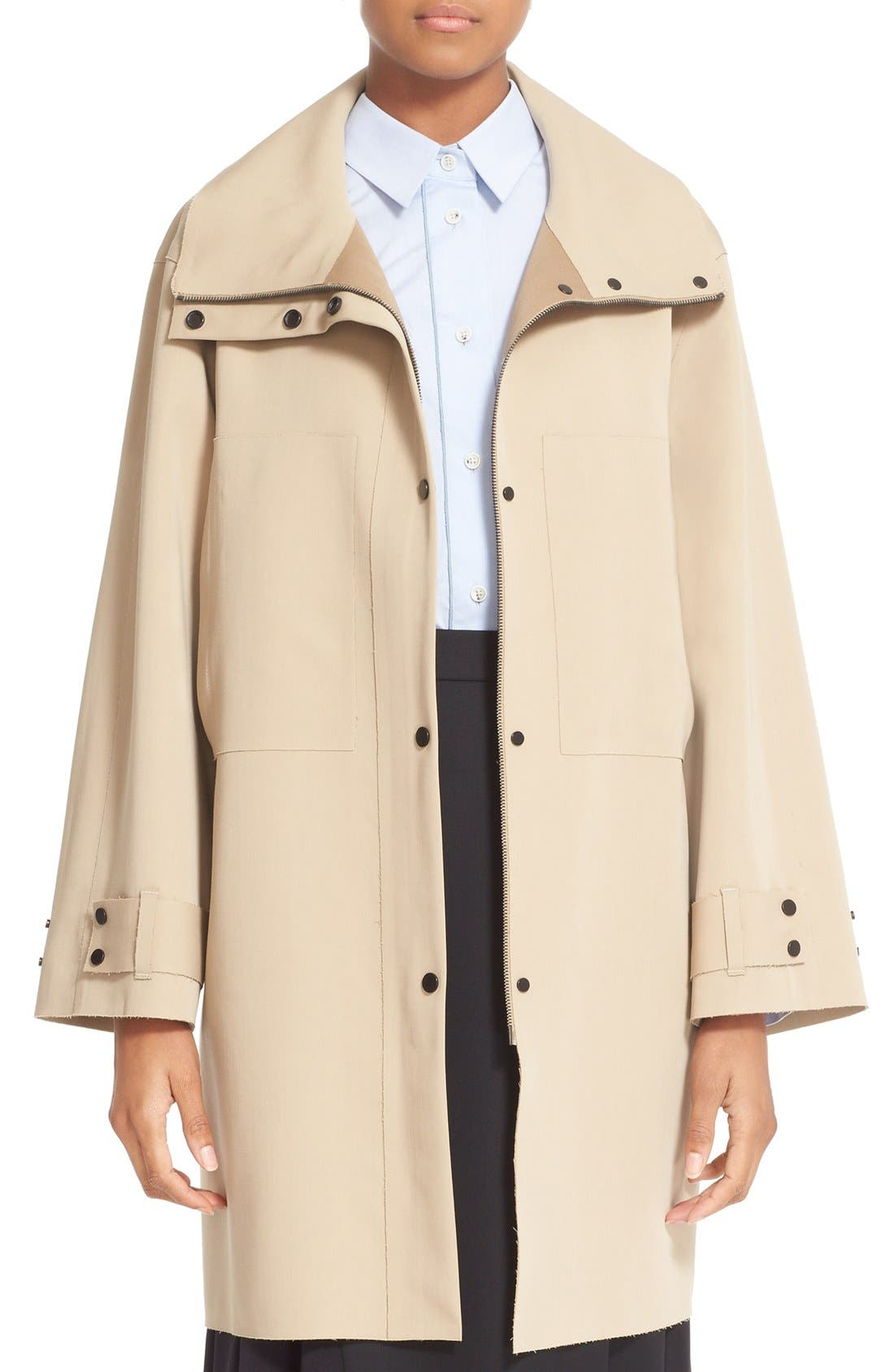 Alternate Image 1 Selected - Colovos Bonded Wool Coat