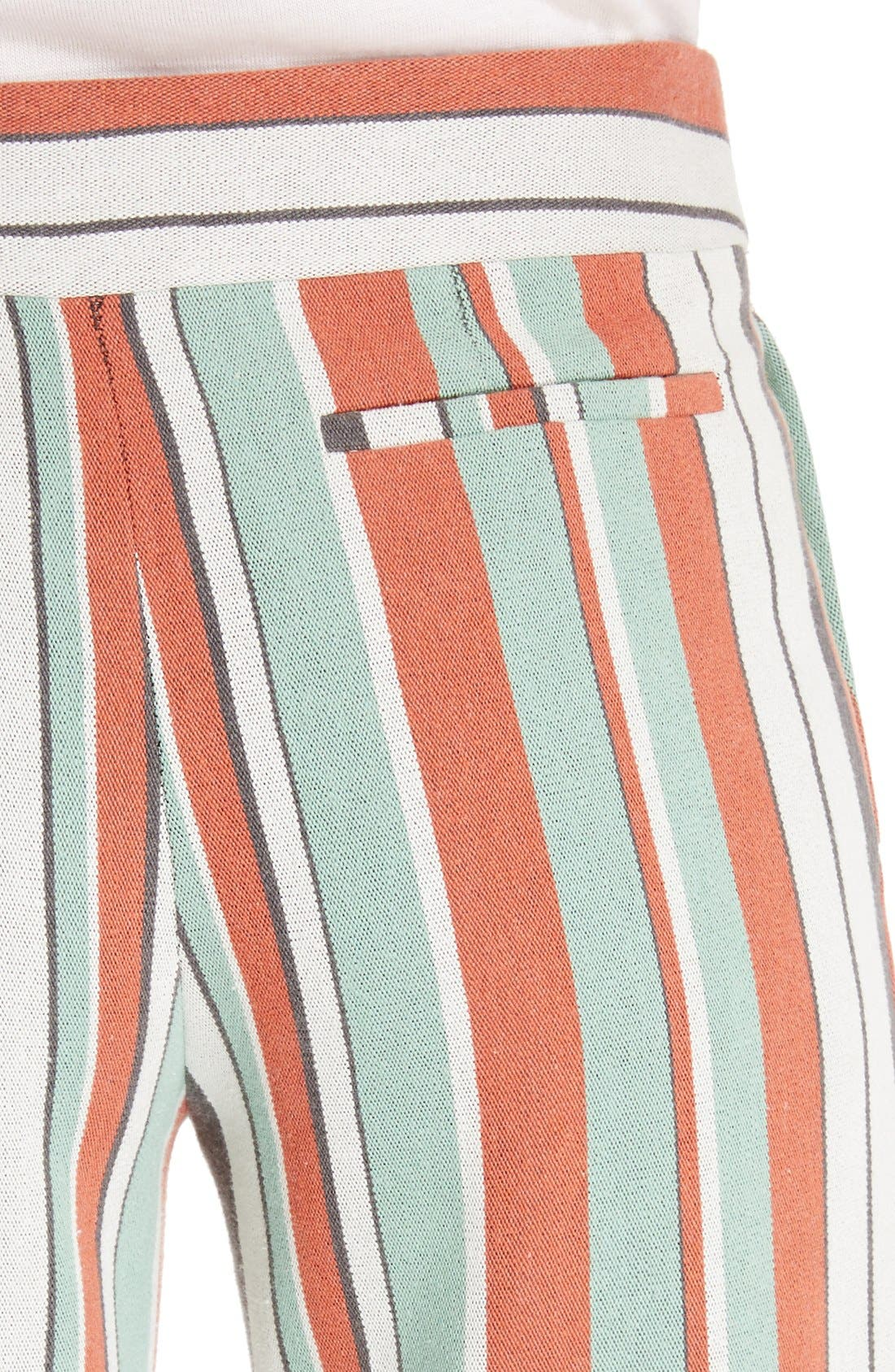 Alternate Image 5  - Chloé Mixed Stripe Wide Leg Pants