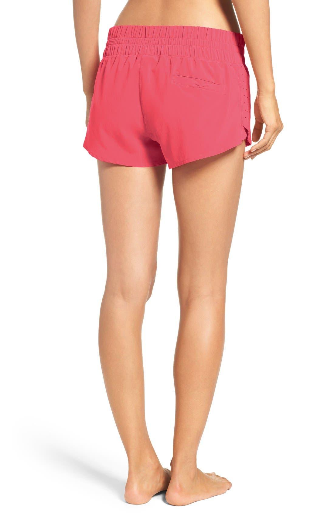 Alternate Image 2  - Zella 'Daylight' Perforated Shorts